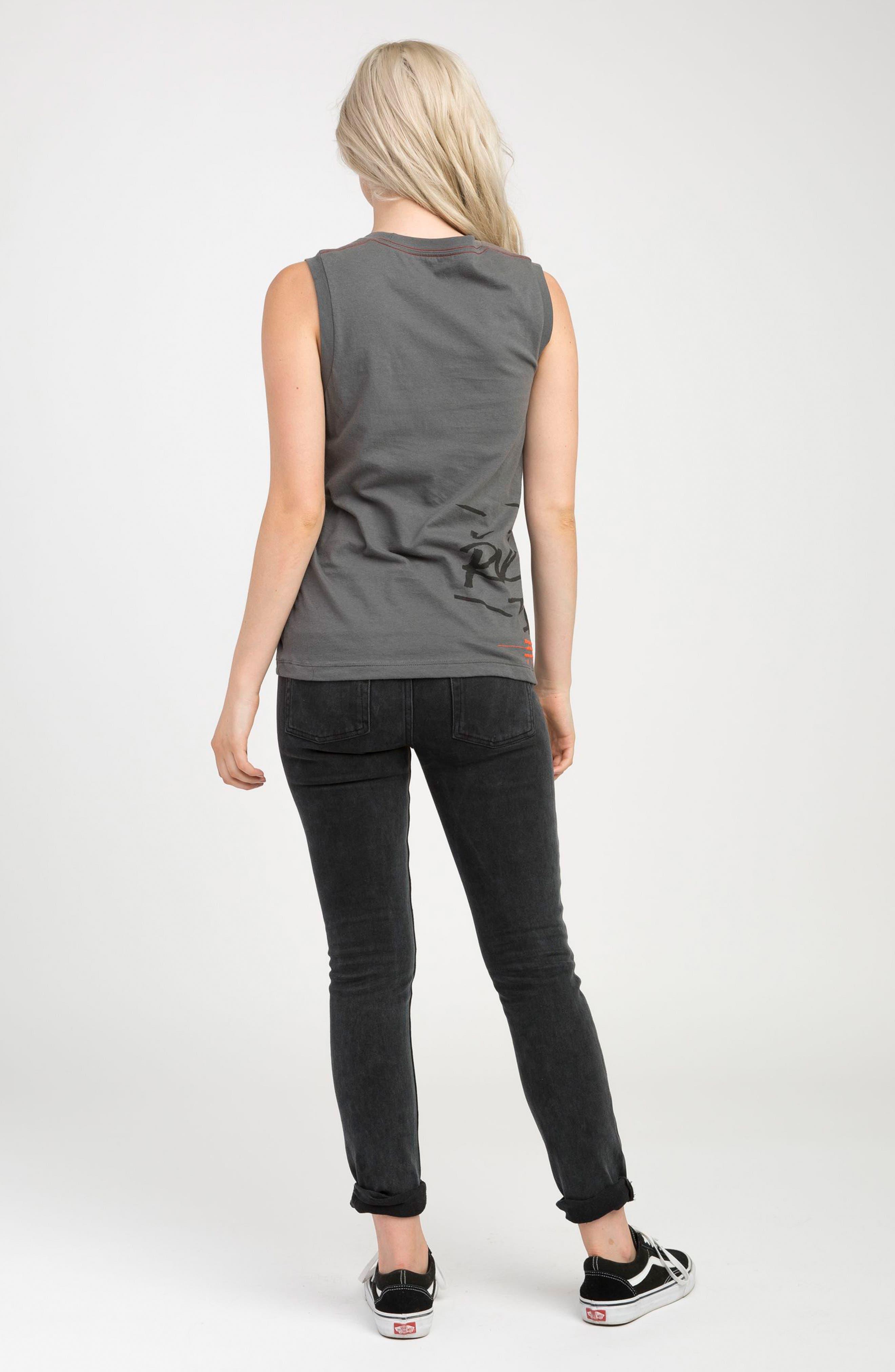 Alternate Image 2  - RVCA Dayley Skinny Jeans