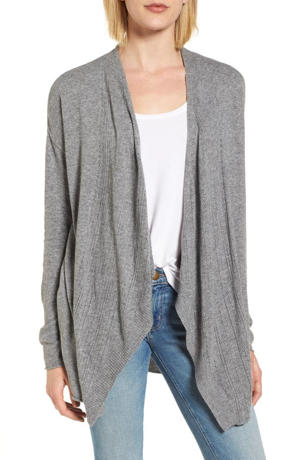 sale front l s zoom performance cardigan sleeves drapes calvin drape womens klein with women sweater rib