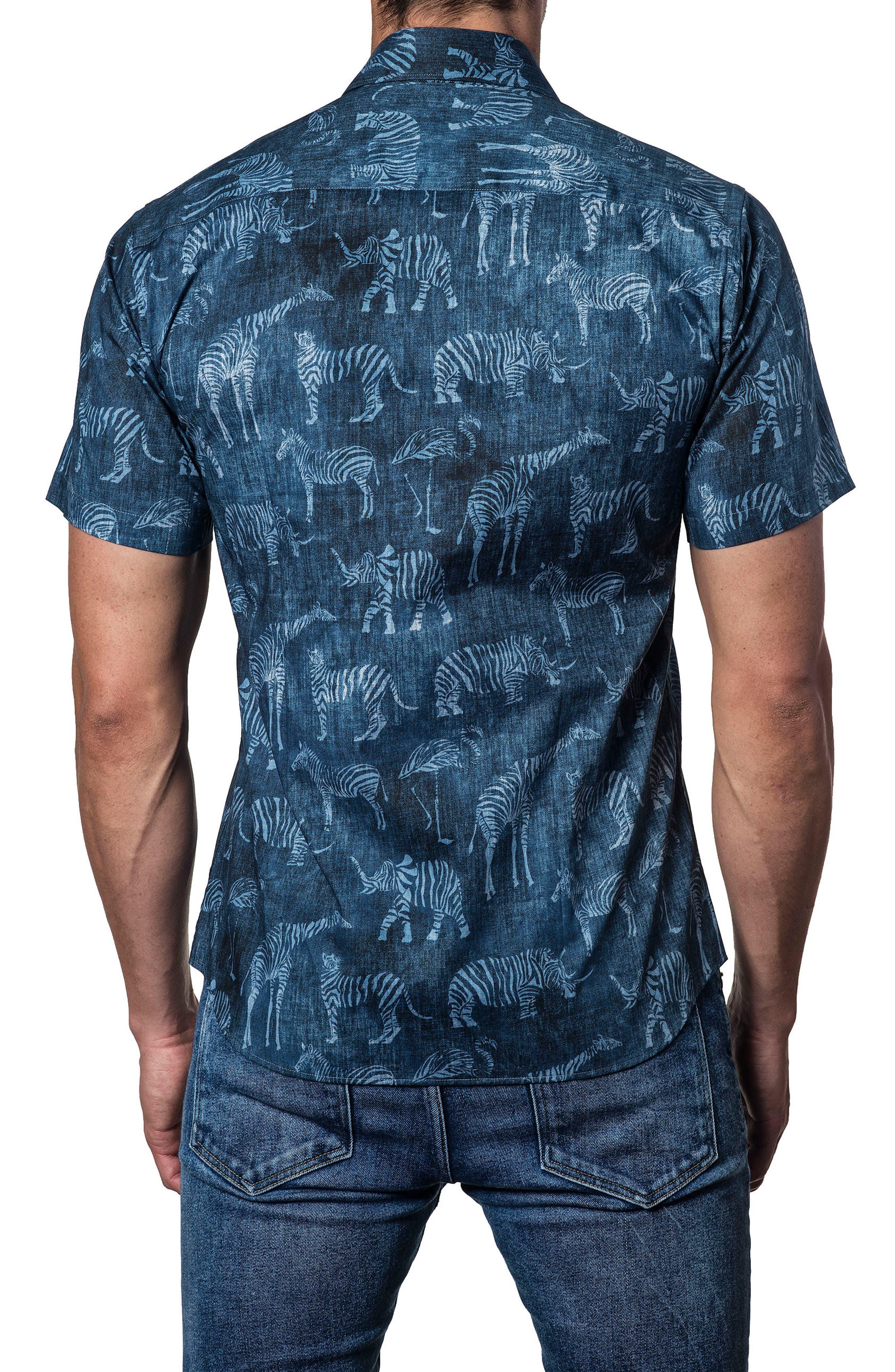 Jarad Lang Button Down Shirt,                             Alternate thumbnail 2, color,                             Blue