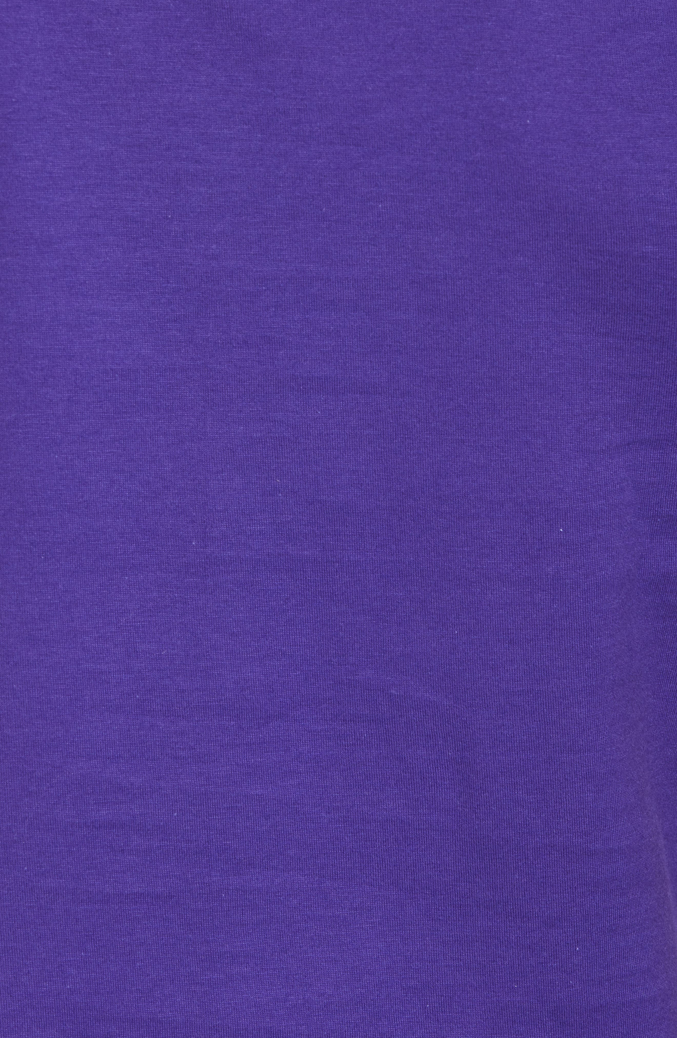 Alternate Reality Graphic T-Shirt,                             Alternate thumbnail 5, color,                             Purple