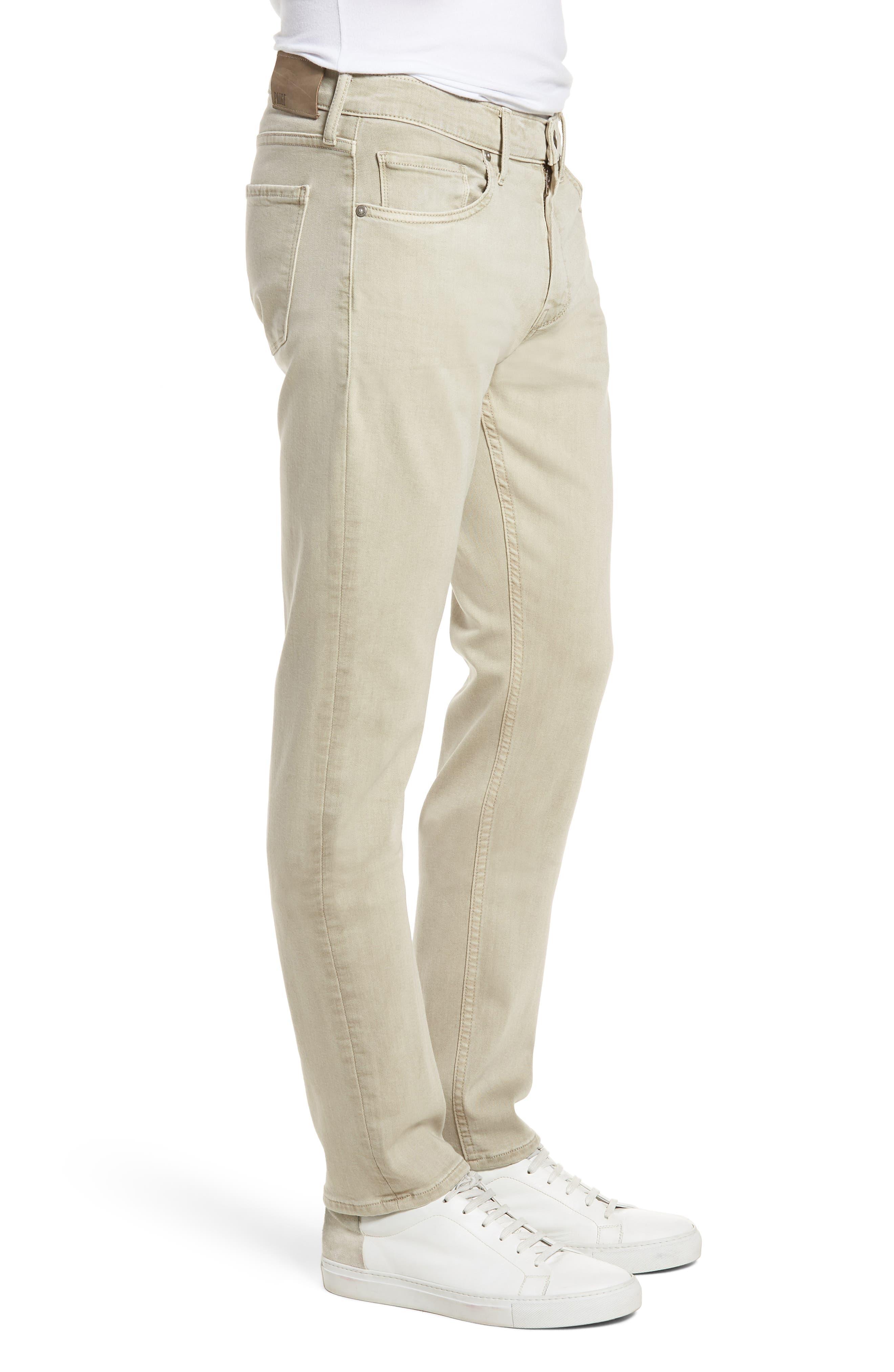 Federal Slim Straight Leg Jeans,                             Alternate thumbnail 3, color,                             Vintage Pebble