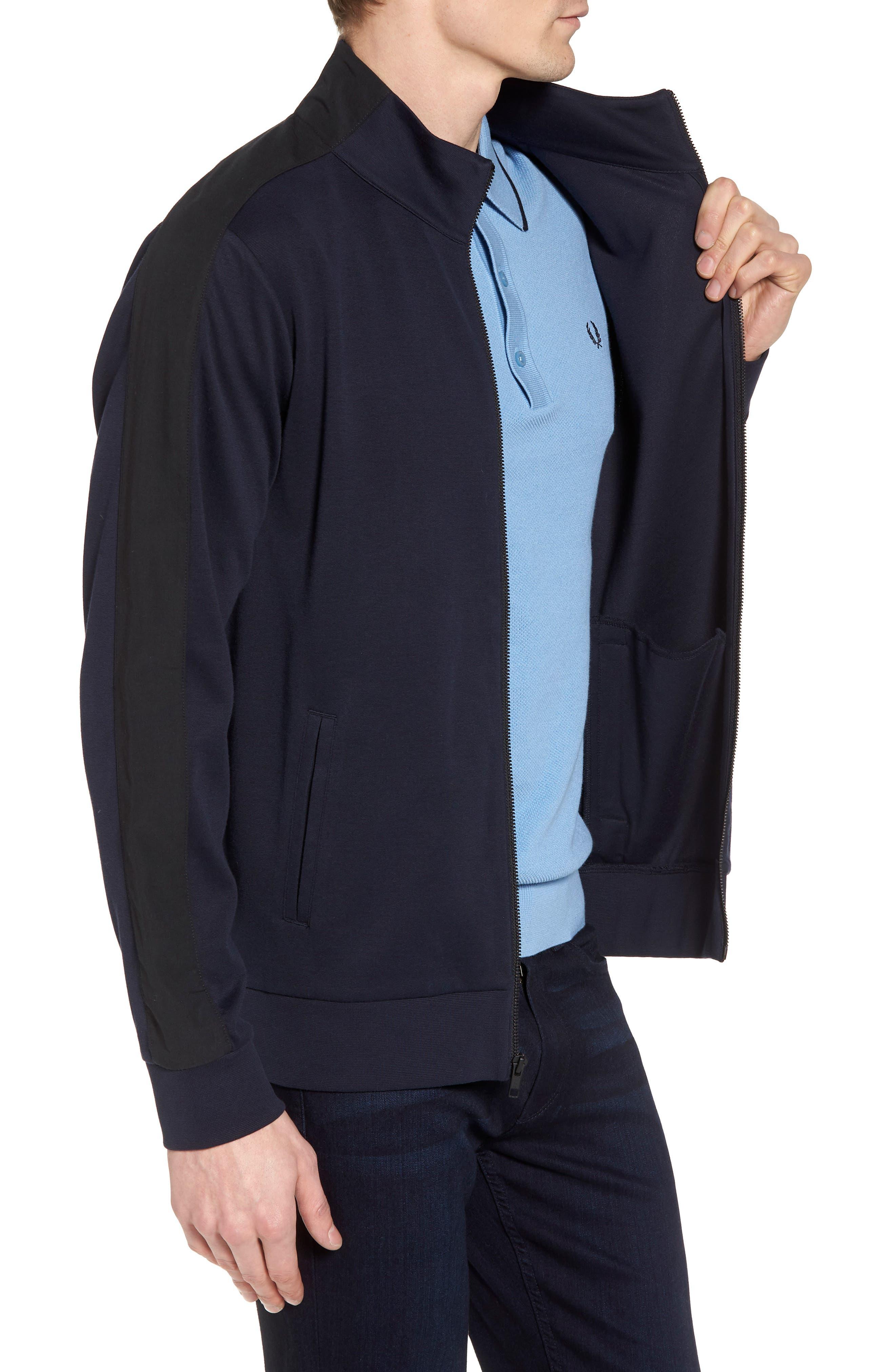 Fleece Jacket,                             Alternate thumbnail 3, color,                             Navy Night Black