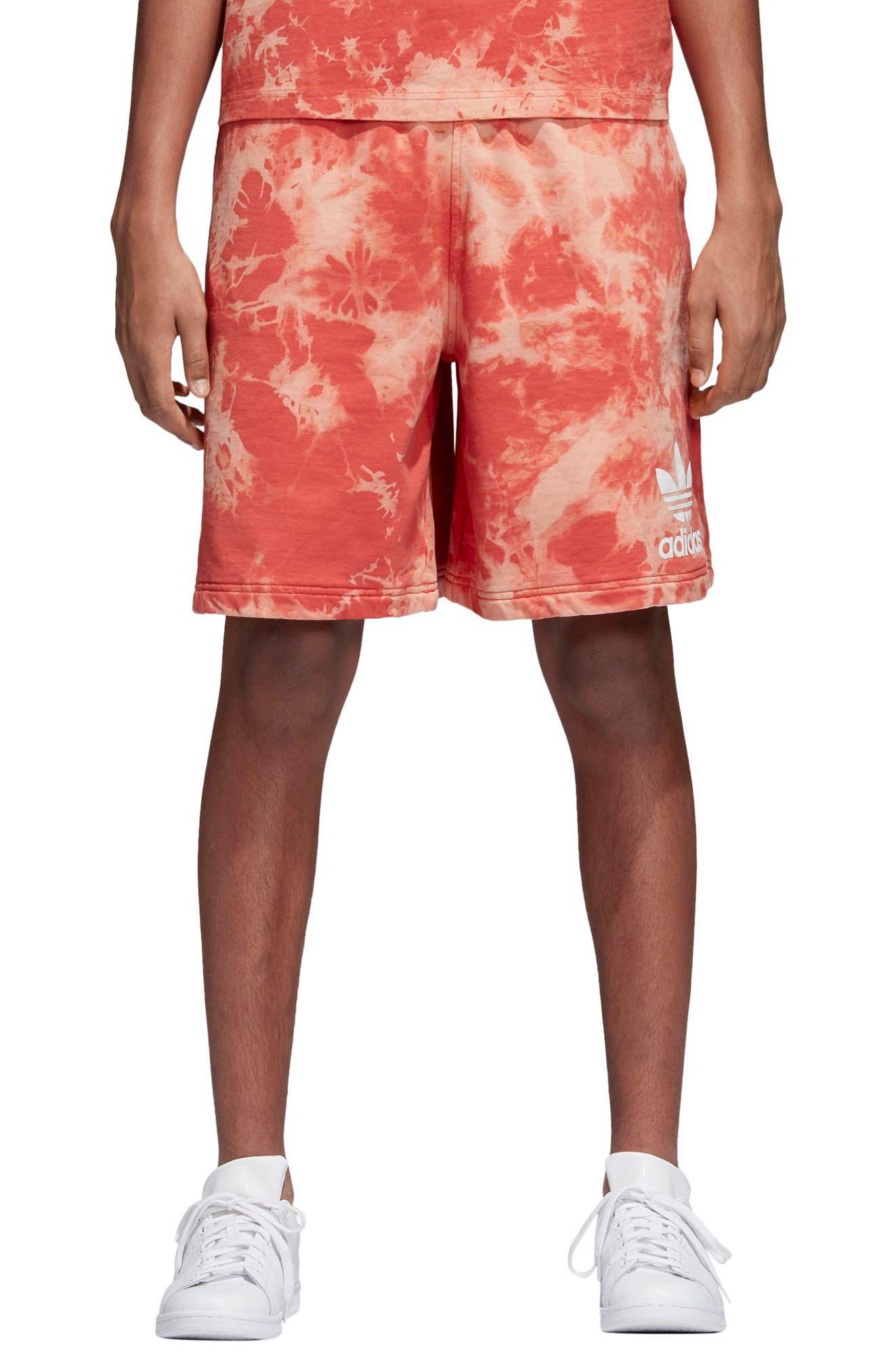 Tie Dye Shorts,                             Main thumbnail 1, color,                             Trasca