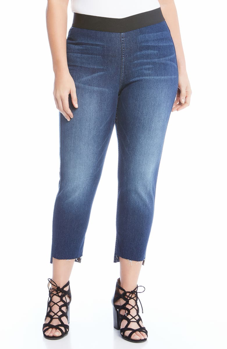 Step Hem Jean Leggings