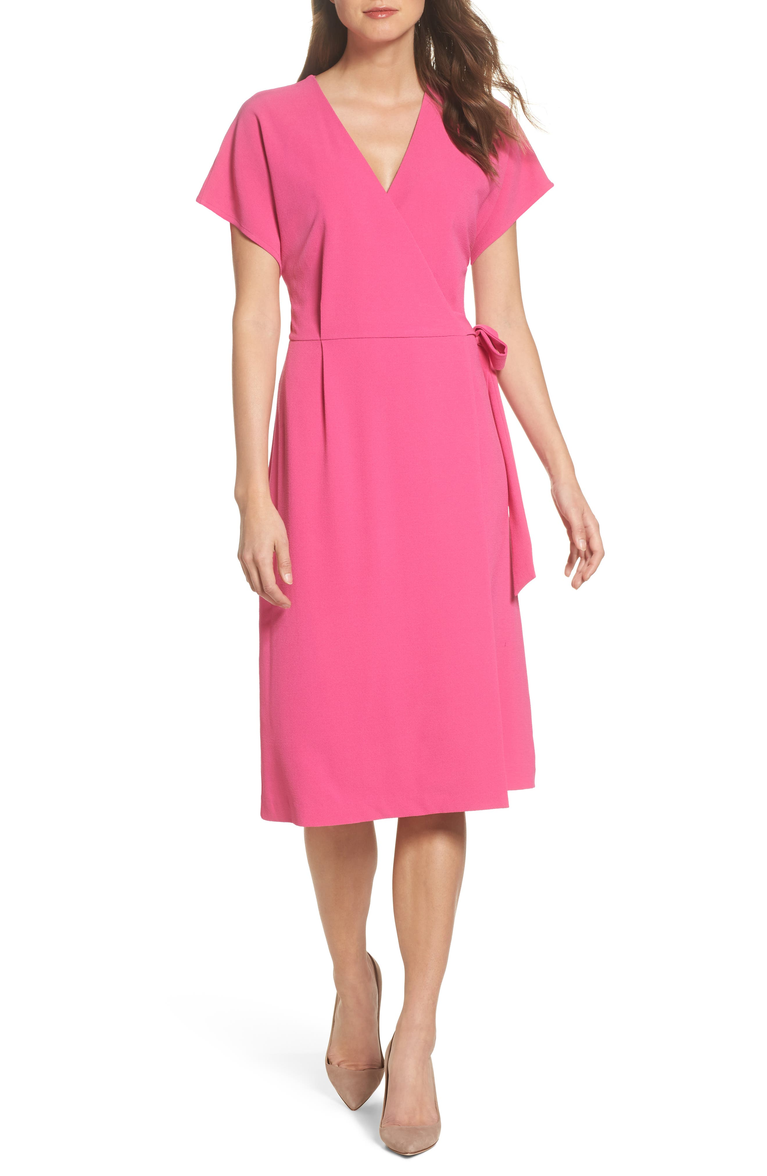 Felicity & Coco Rita Wrap Dress (Regular & Petite) (Nordstrom Exclusive)