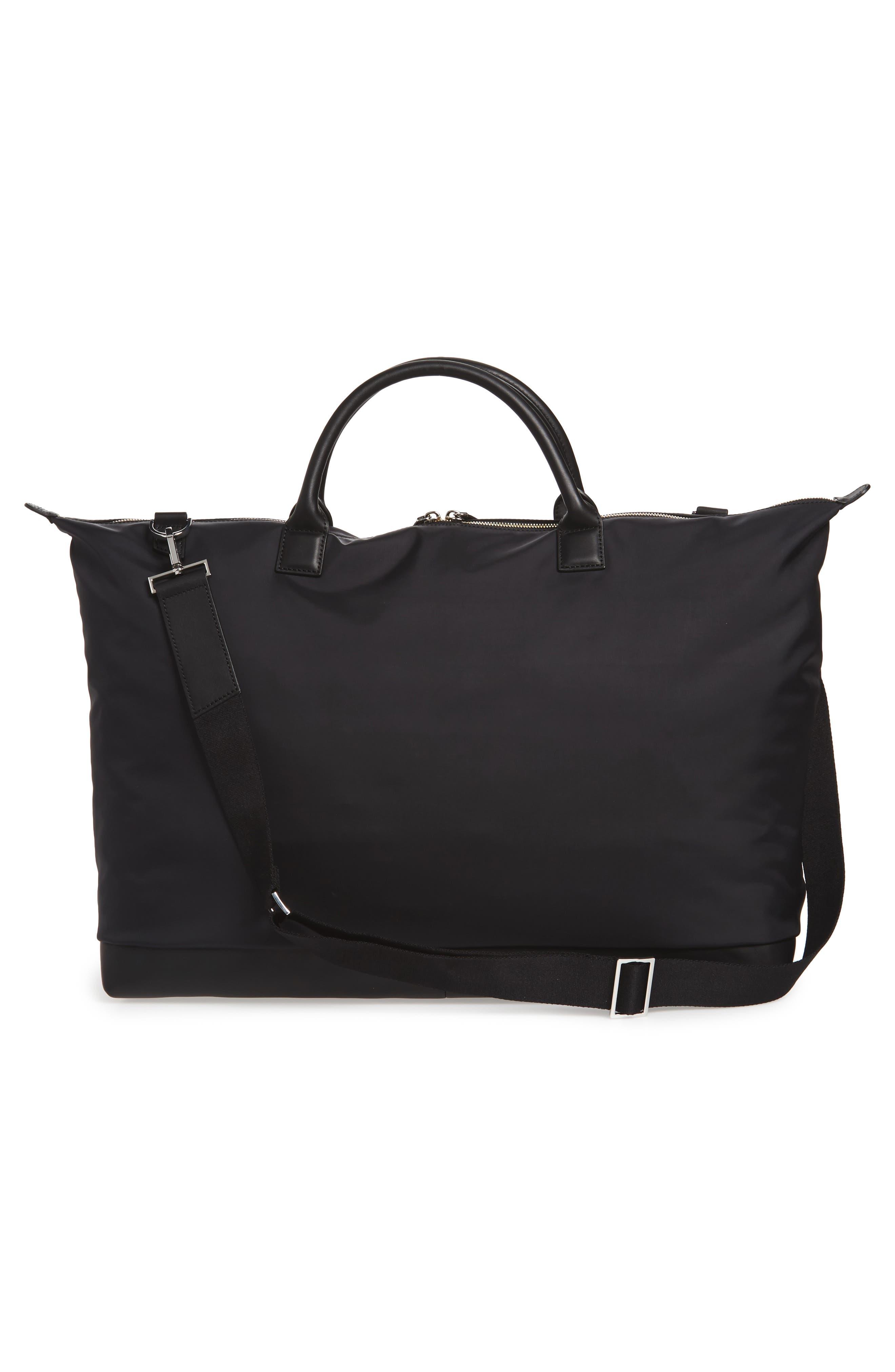 Hartsfield Nylon Tote Bag,                             Alternate thumbnail 3, color,                             Black Nylon