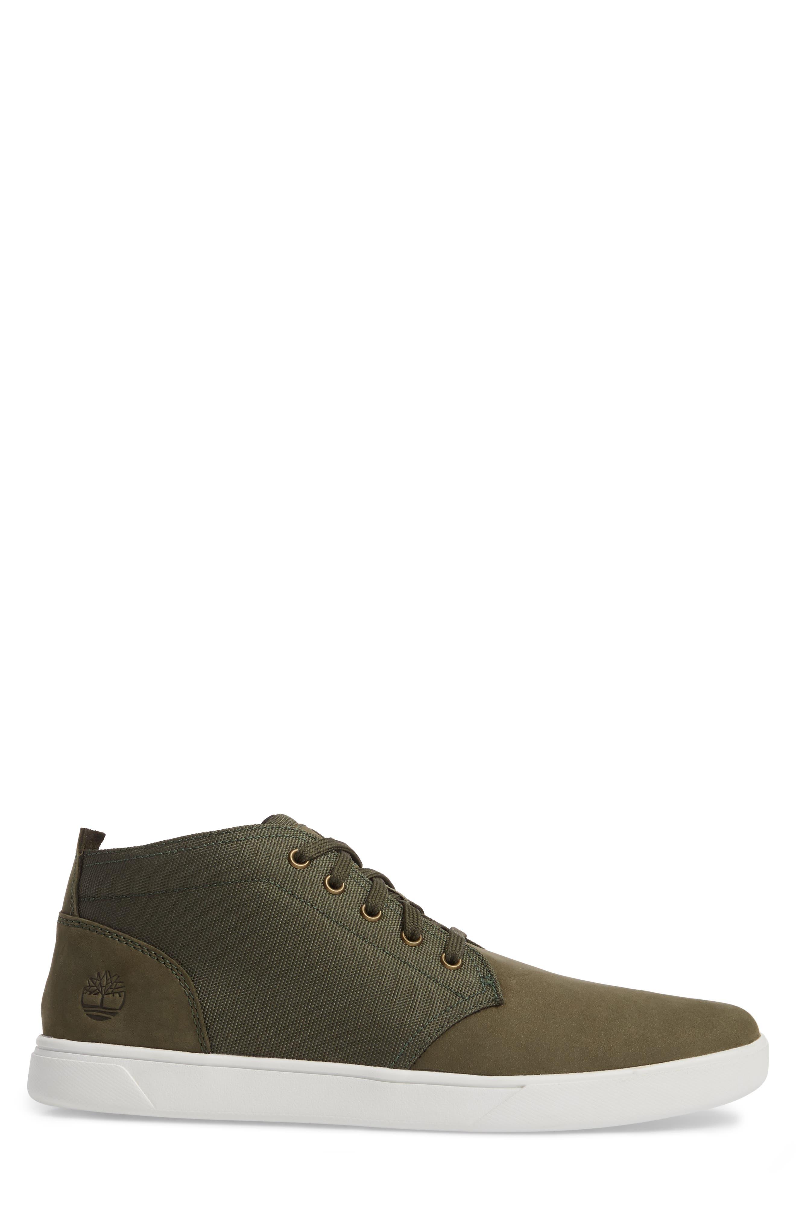 Earthkeepers<sup>®</sup> 'Groveton' Chukka Sneaker,                             Alternate thumbnail 3, color,                             Grape Leaf Leather