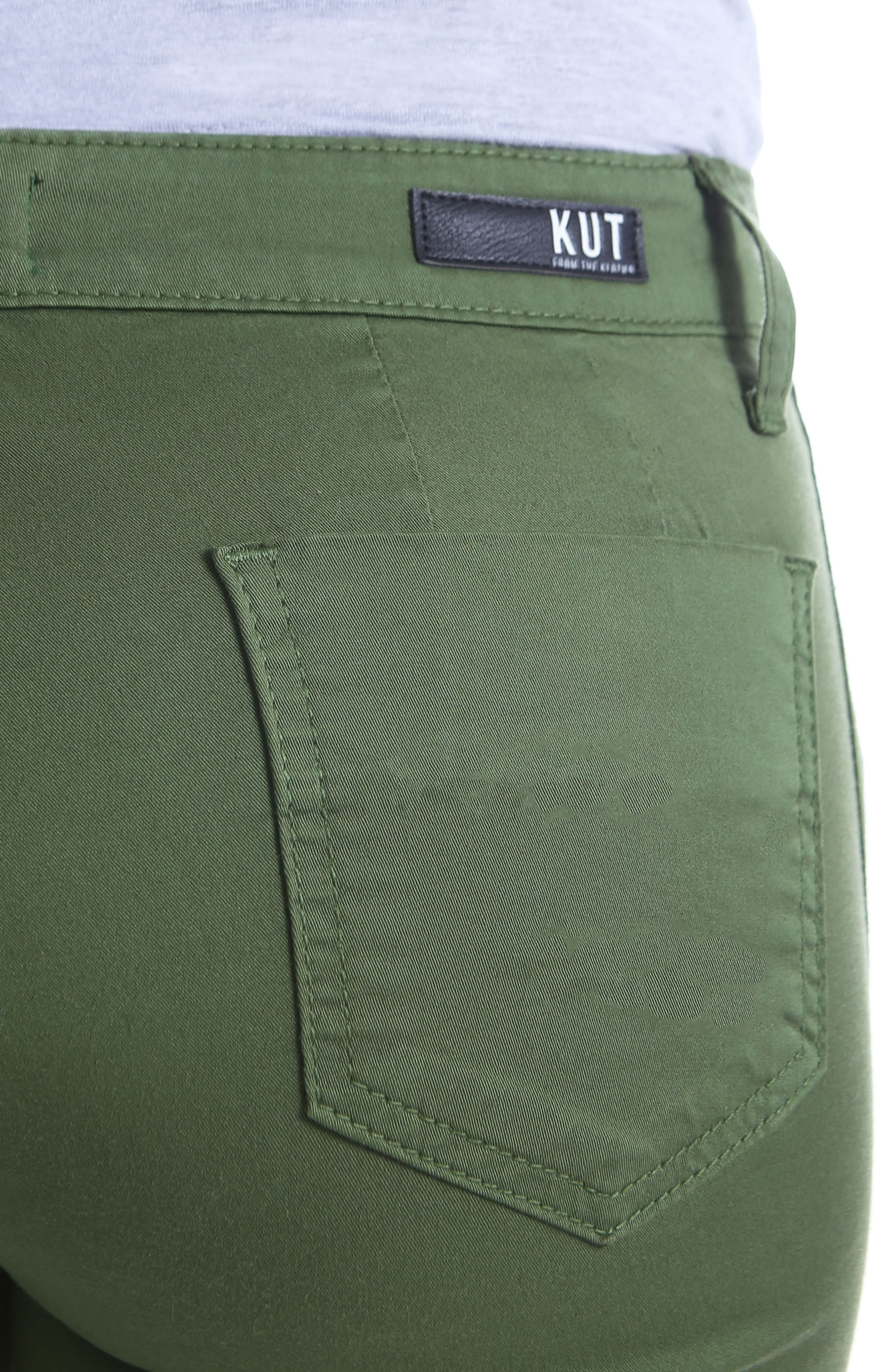 Alternate Image 4  - KUT from the Kloth Stretch Cotton Pants