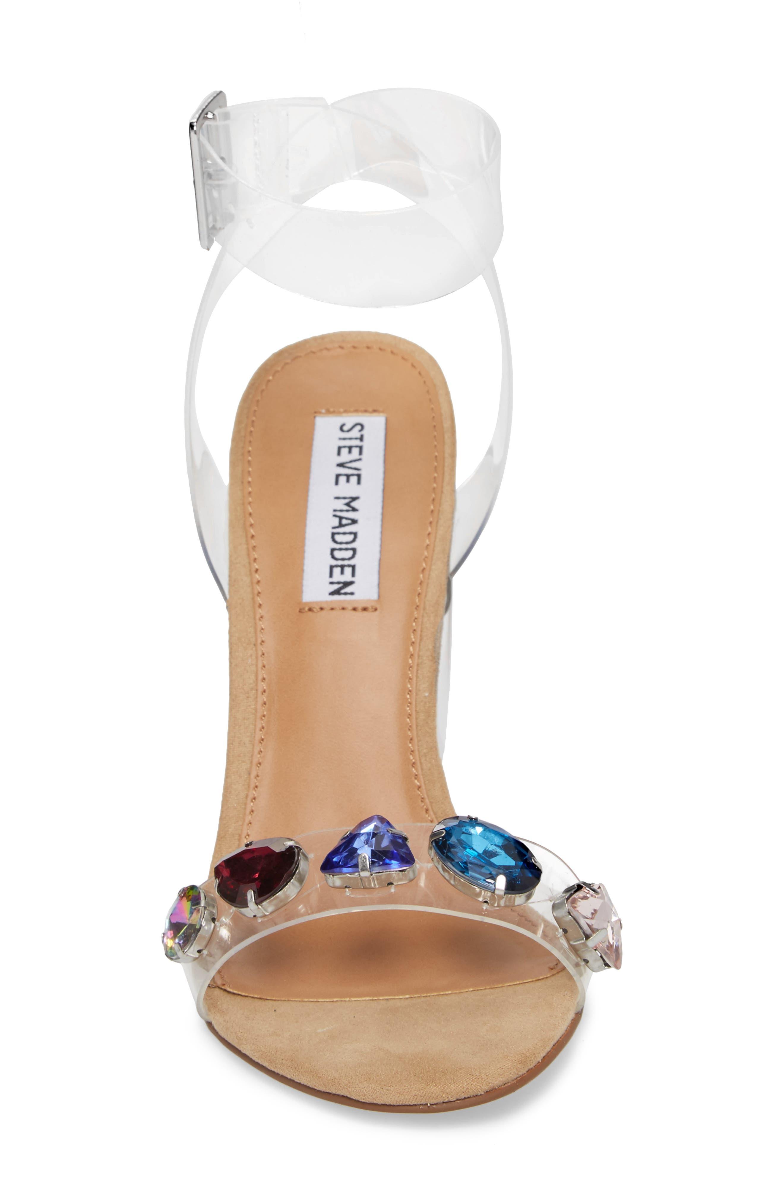 Control Sandal,                             Alternate thumbnail 4, color,                             Clear