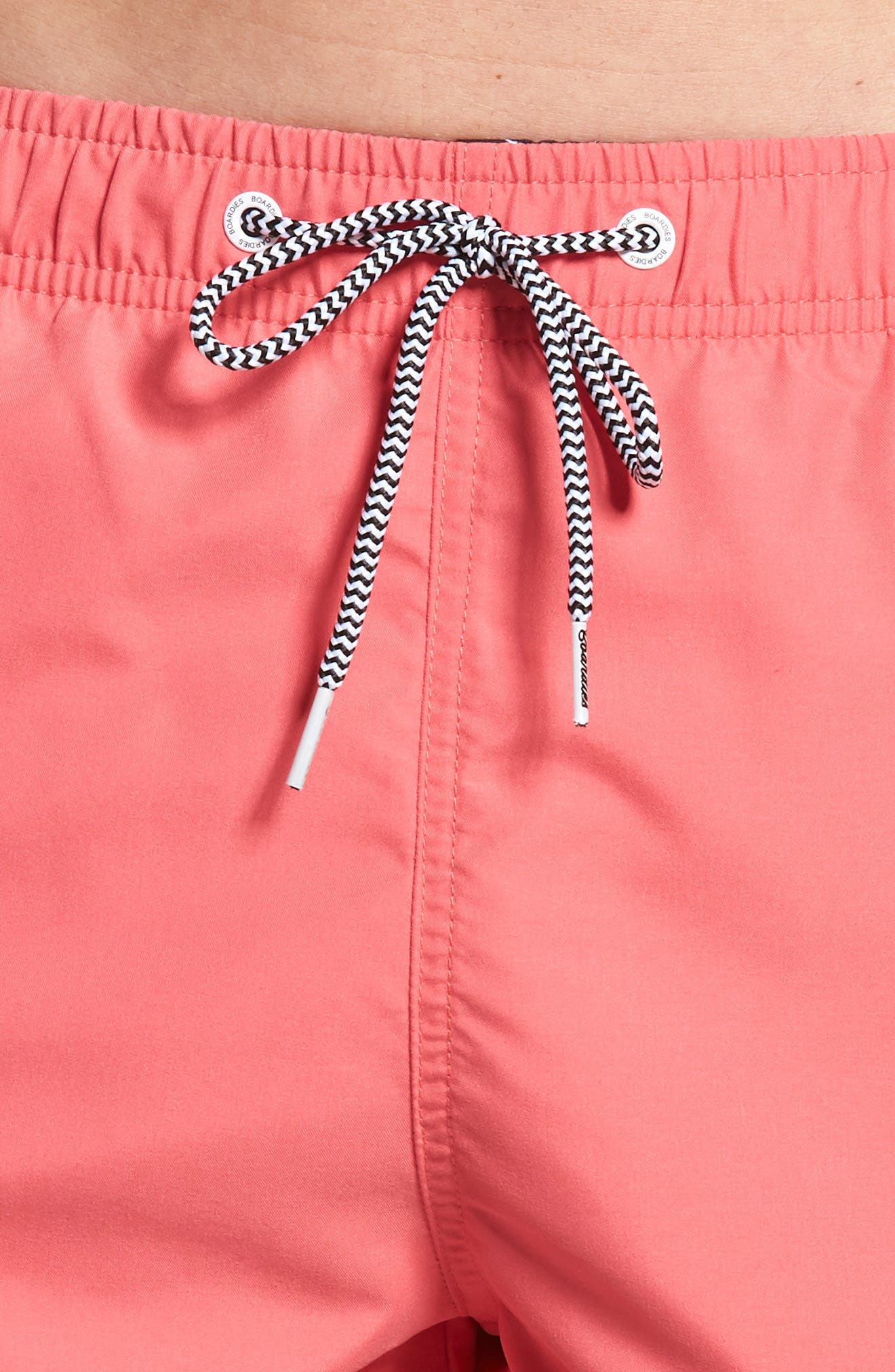Swim Trunks,                             Alternate thumbnail 4, color,                             Red