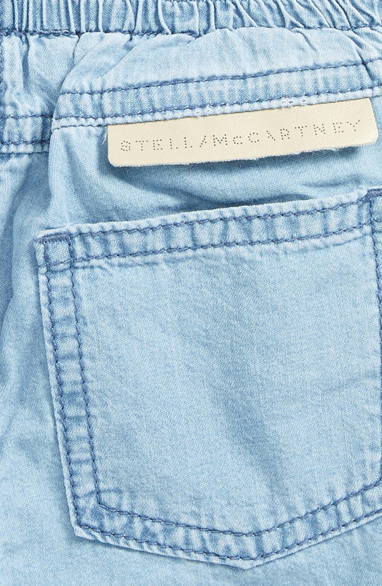 Pipkin Chambray Pants,                             Alternate thumbnail 3, color,                             Denim