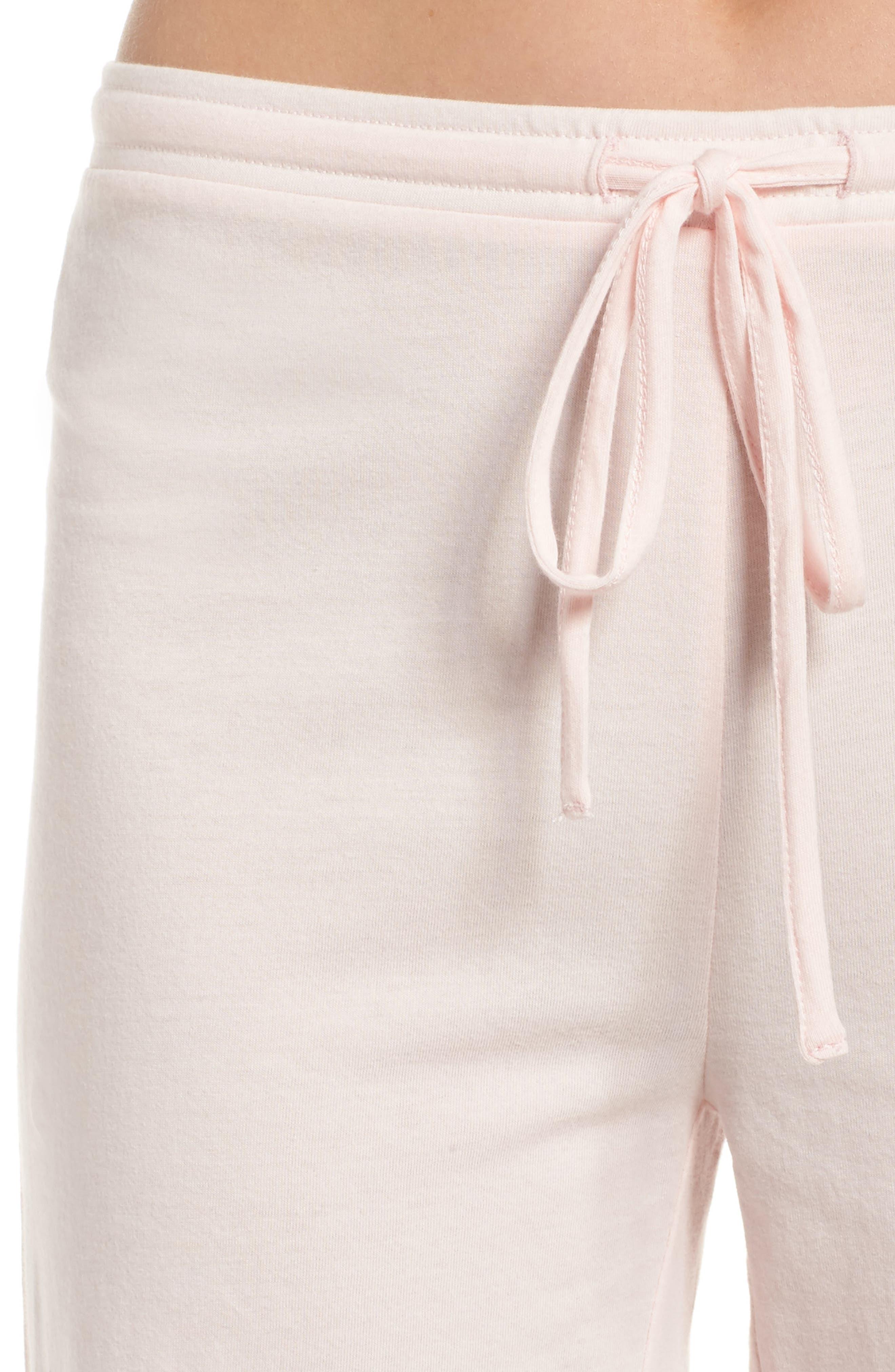 Breathe Lounge Pants,                             Alternate thumbnail 6, color,                             Pink Frosty