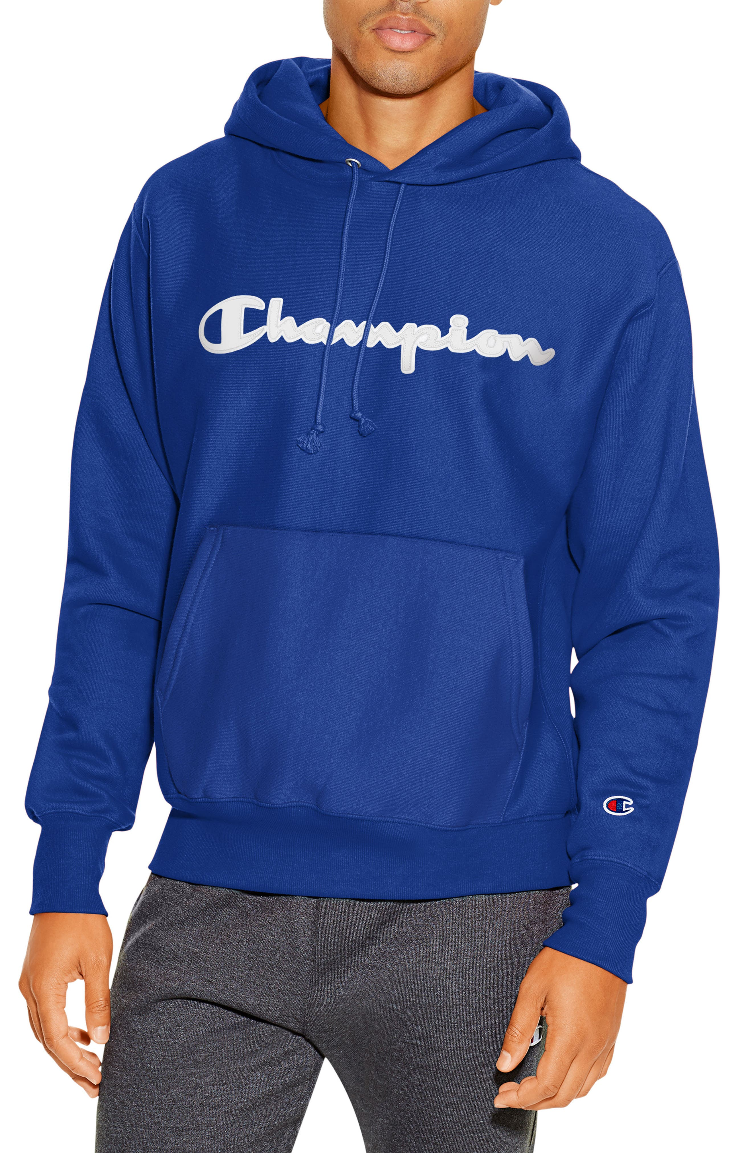 Alternate Image 1 Selected - Champion Reverse Weave® Pullover Hoodie