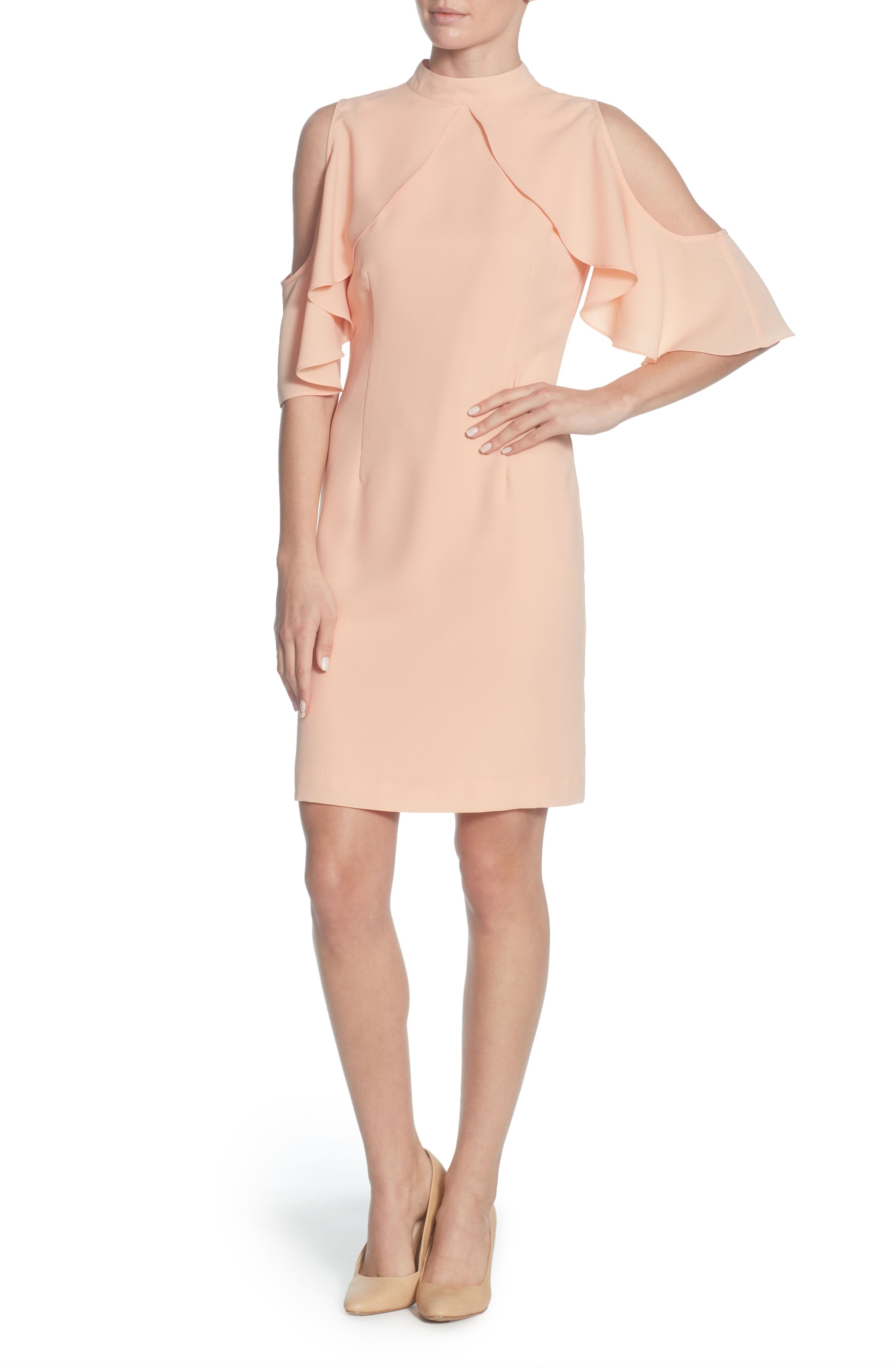 Fern Two Way Dress,                             Main thumbnail 1, color,                             Pink Sand