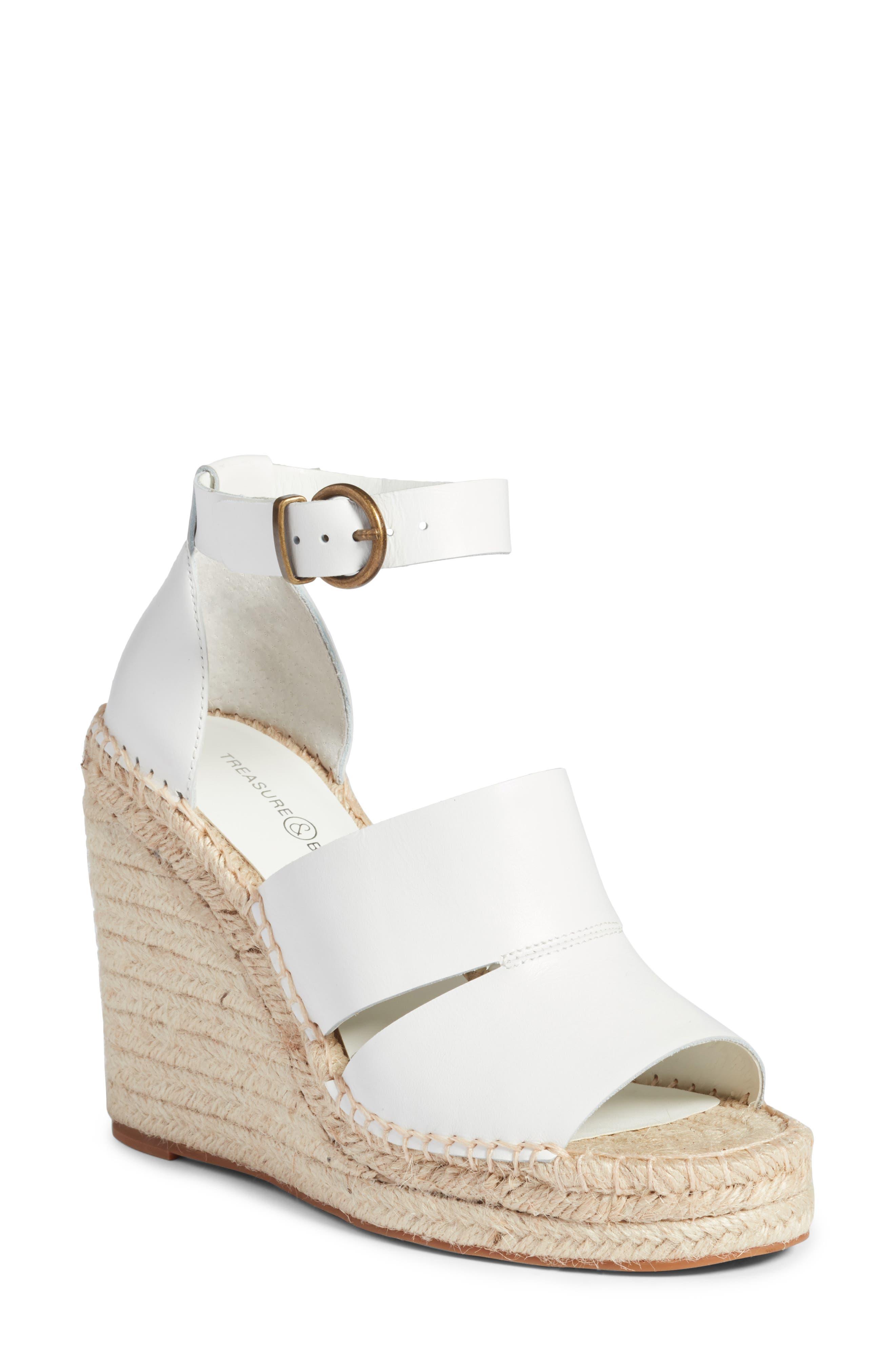 Alternate Image 1 Selected - Treasure & Bond Sannibel Platform Wedge Sandal (Women)