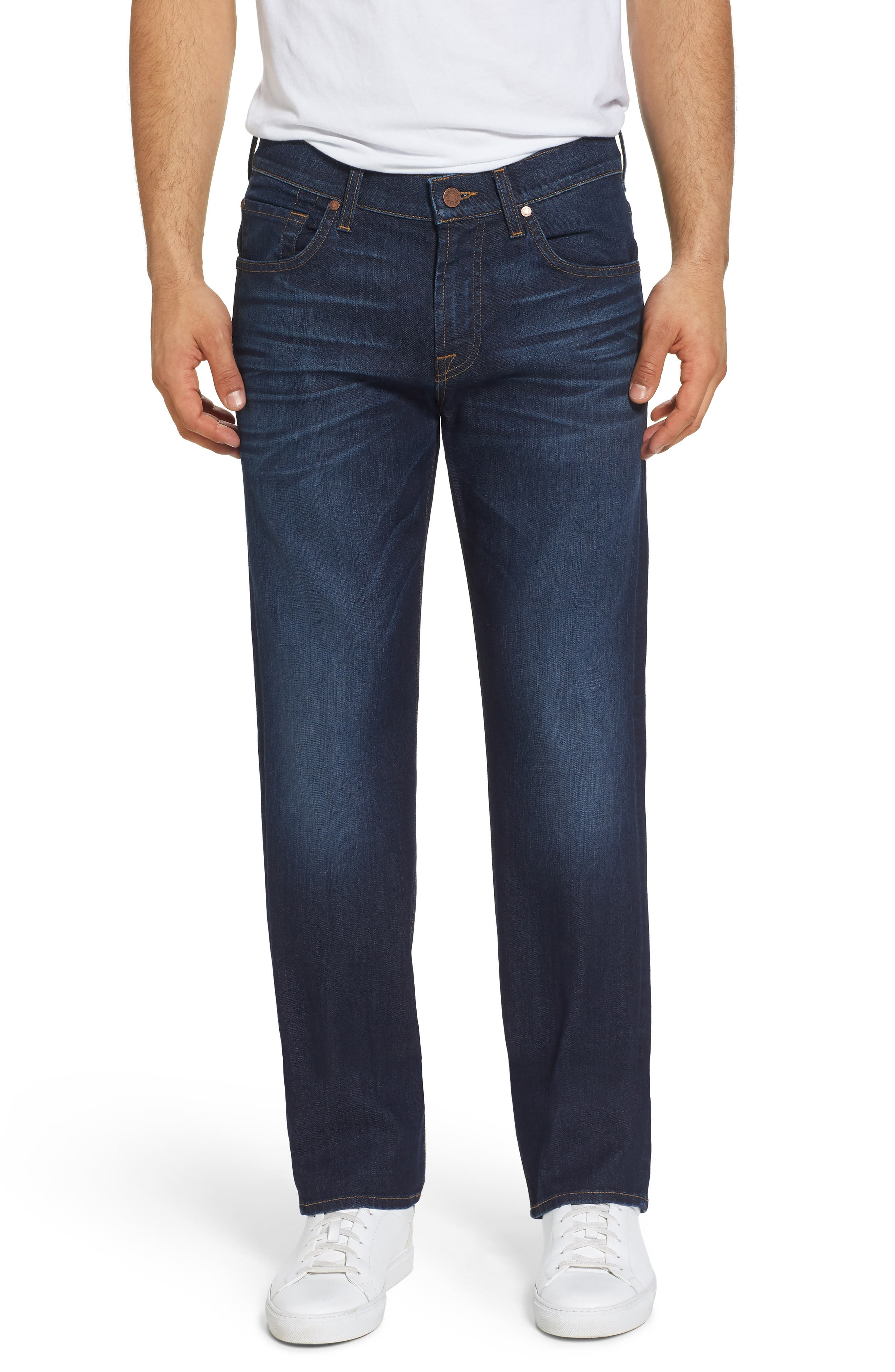 7 For All Mankind® Airweft Austyn Relaxed Straight Leg Jeans (Commotion)