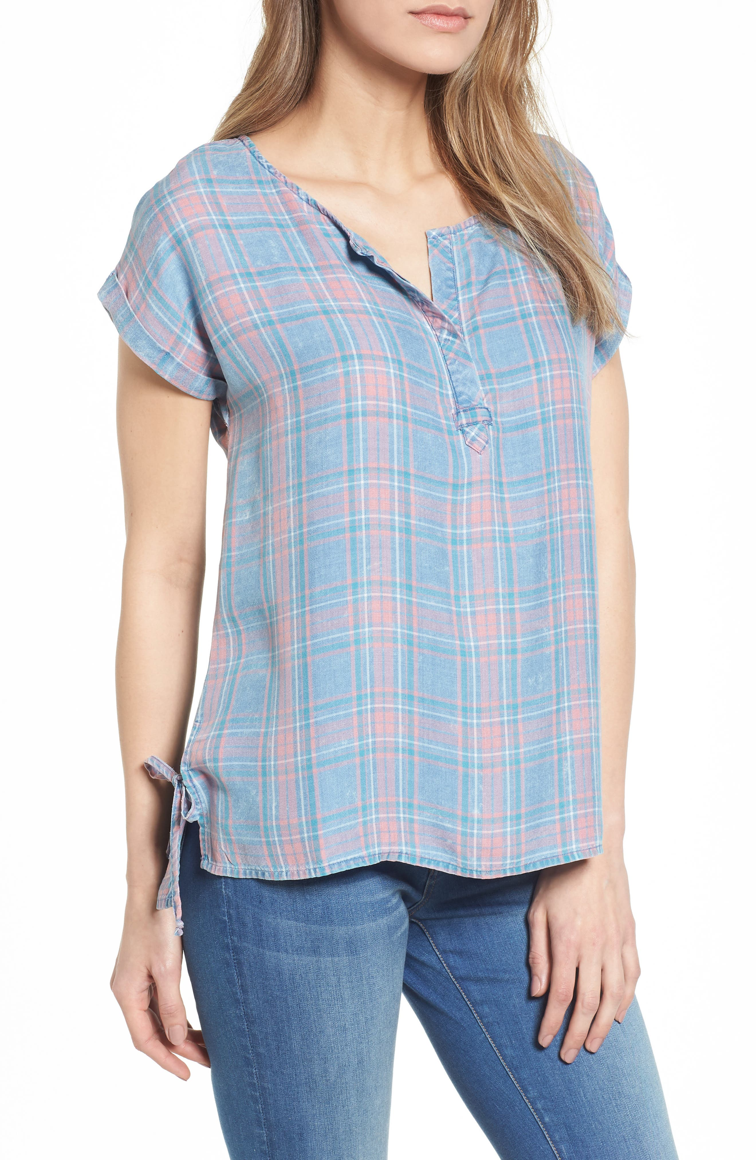 Women's Plaid Tops & Tees | Nordstrom