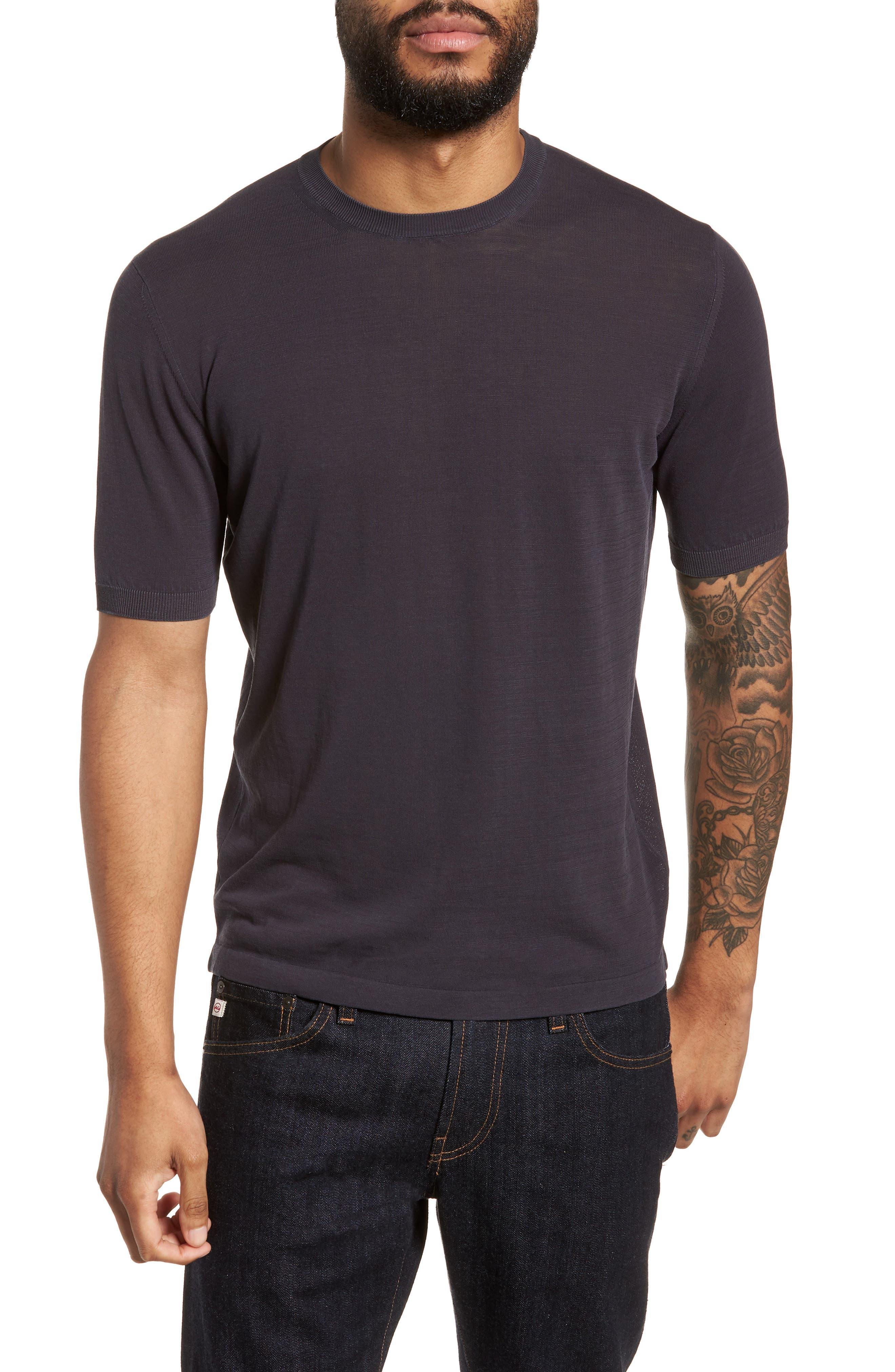 Alternate Image 1 Selected - Eleventy Fresco Crewneck Cotton T-Shirt