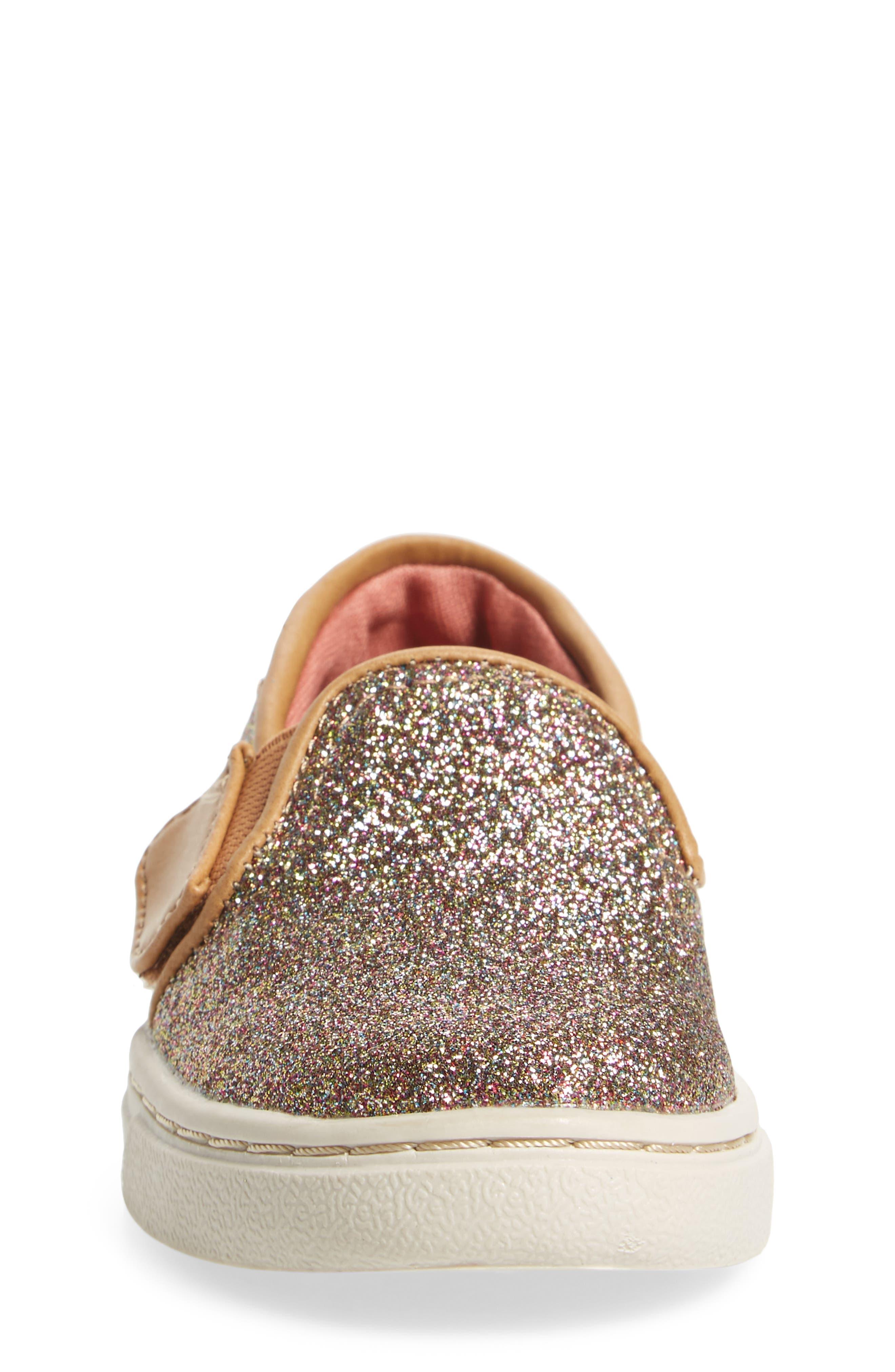 Alternate Image 4  - TOMS Luca Slip-On Sneaker (Baby, Walker & Toddler)