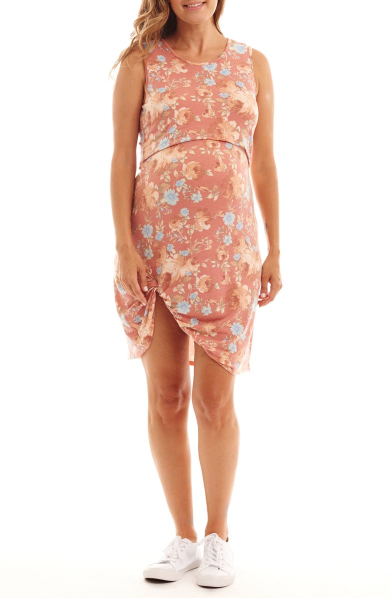 Marta Floral Maternity/Nursing Dress