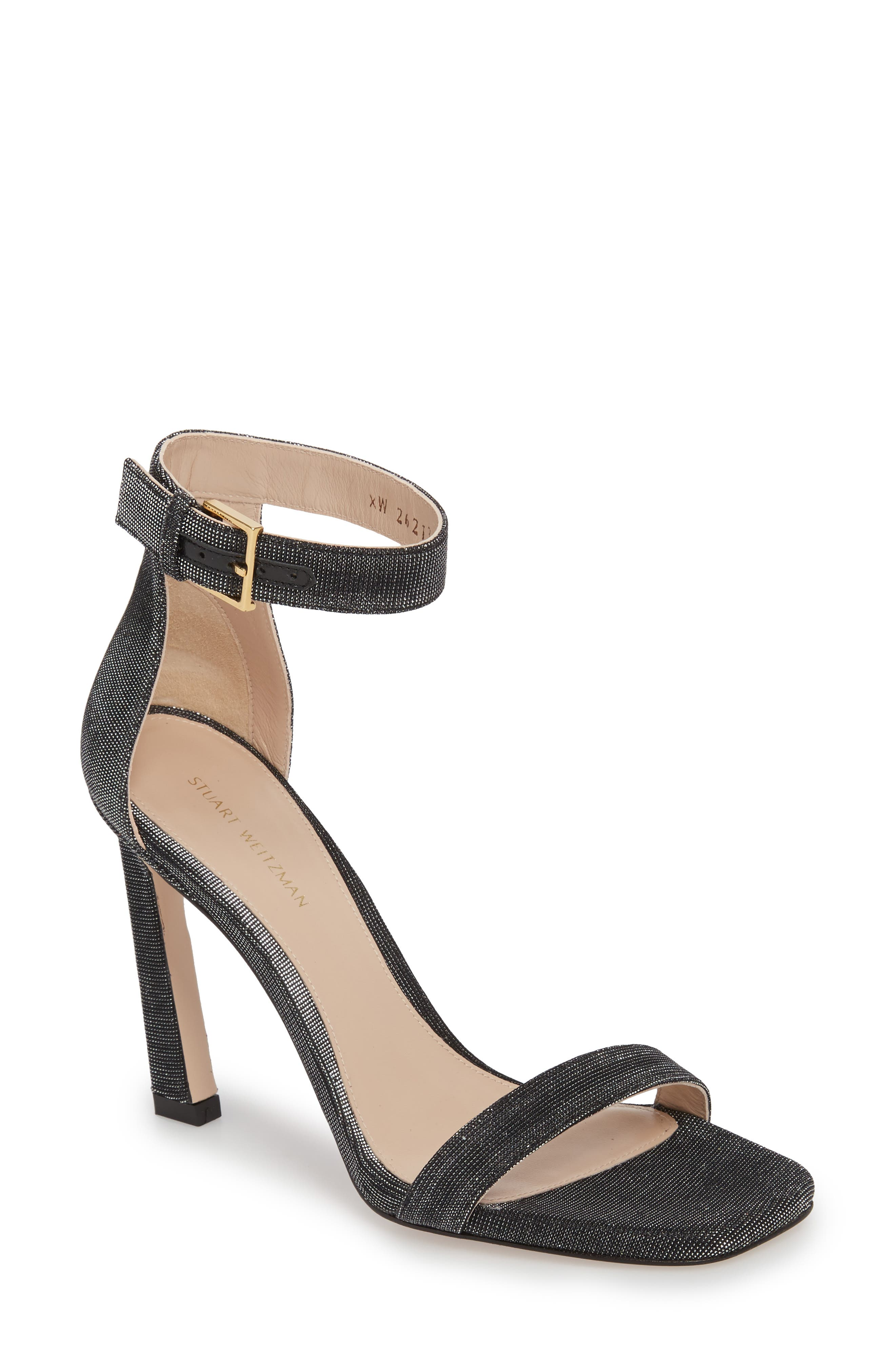 Stuart Weitzman 100SQUARENUDIST Sandal (Women)
