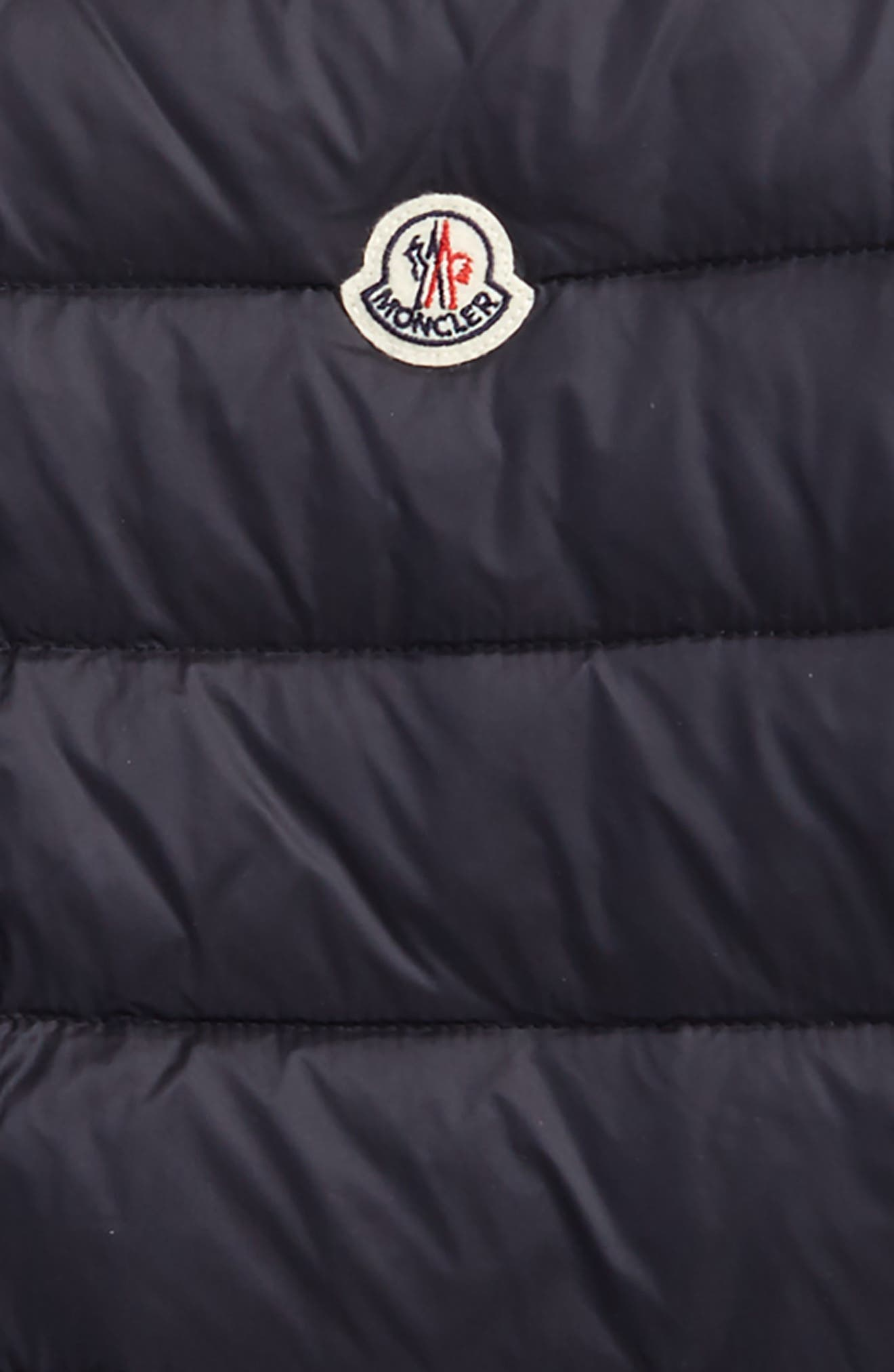 Quilted Nylon Jacket,                             Alternate thumbnail 2, color,                             Navy