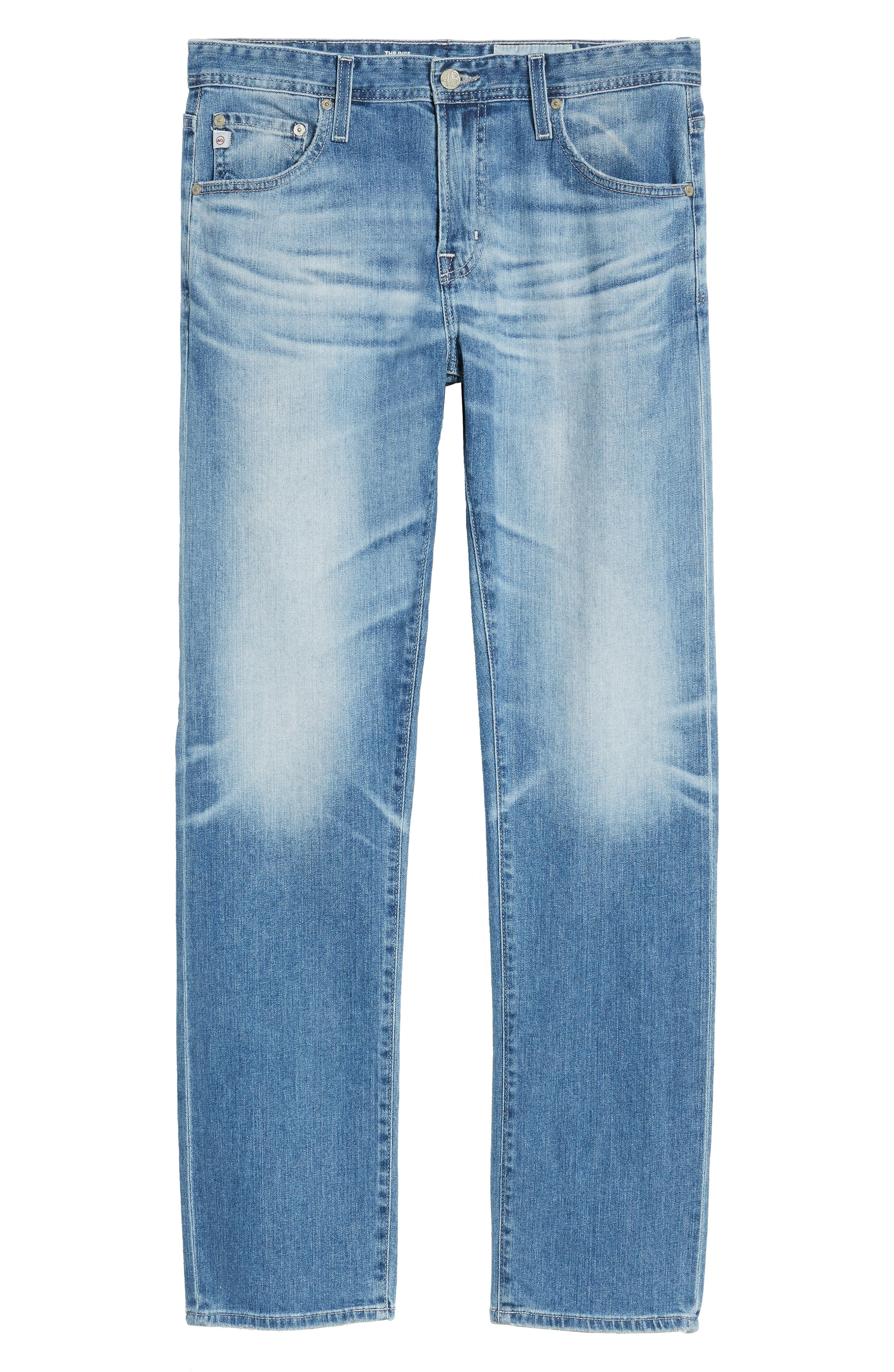 Ives Straight Leg Jeans,                             Alternate thumbnail 6, color,                             15 Years Aground