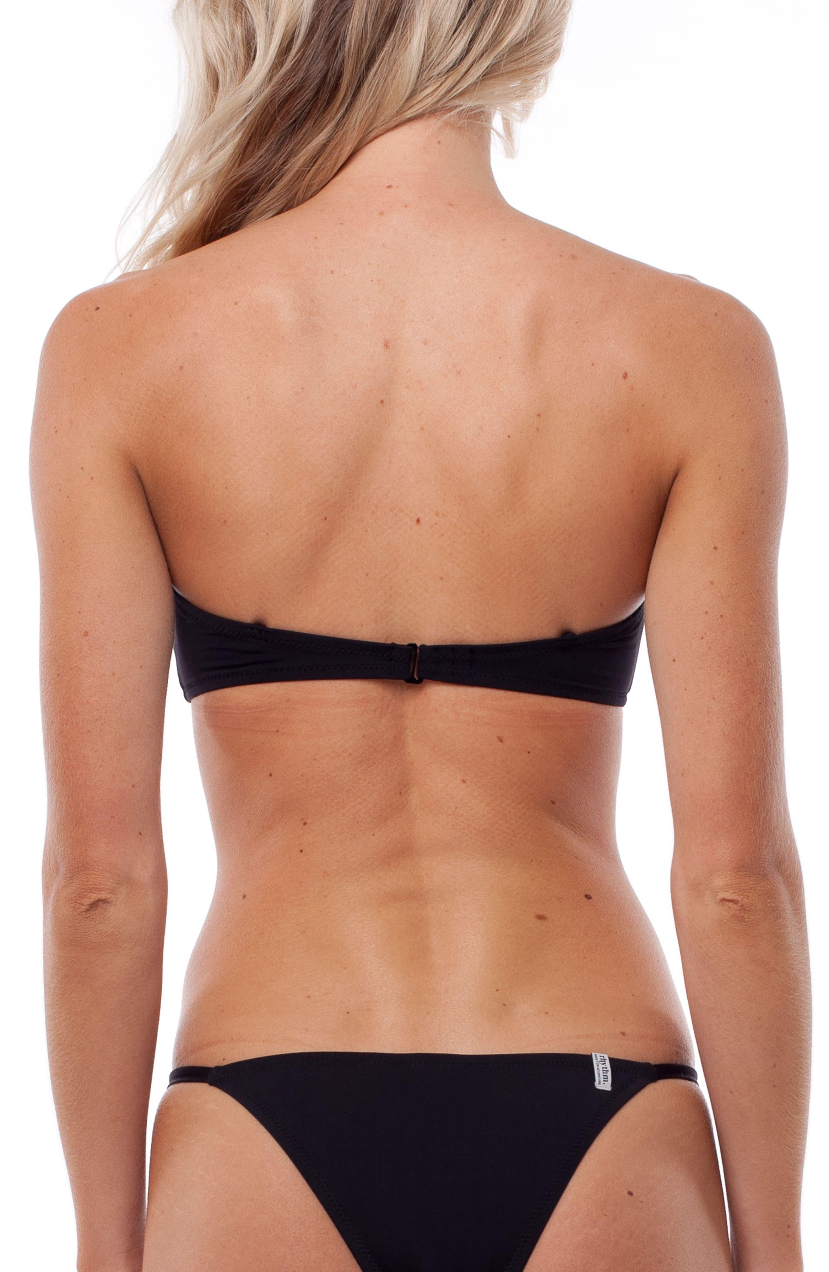 My Bandeau Bikini Top,                             Alternate thumbnail 2, color,                             Black