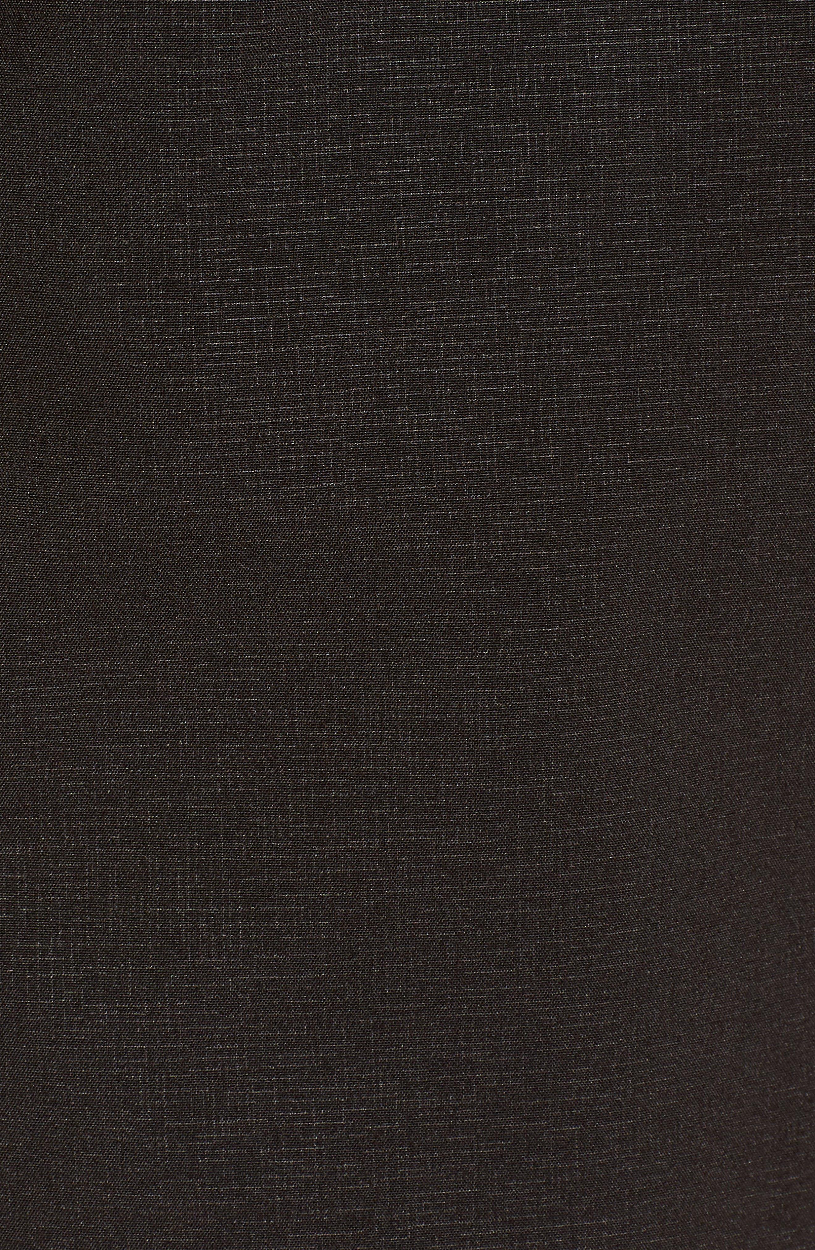 Hornbaek Soft Shell Raincoat,                             Alternate thumbnail 6, color,                             Black