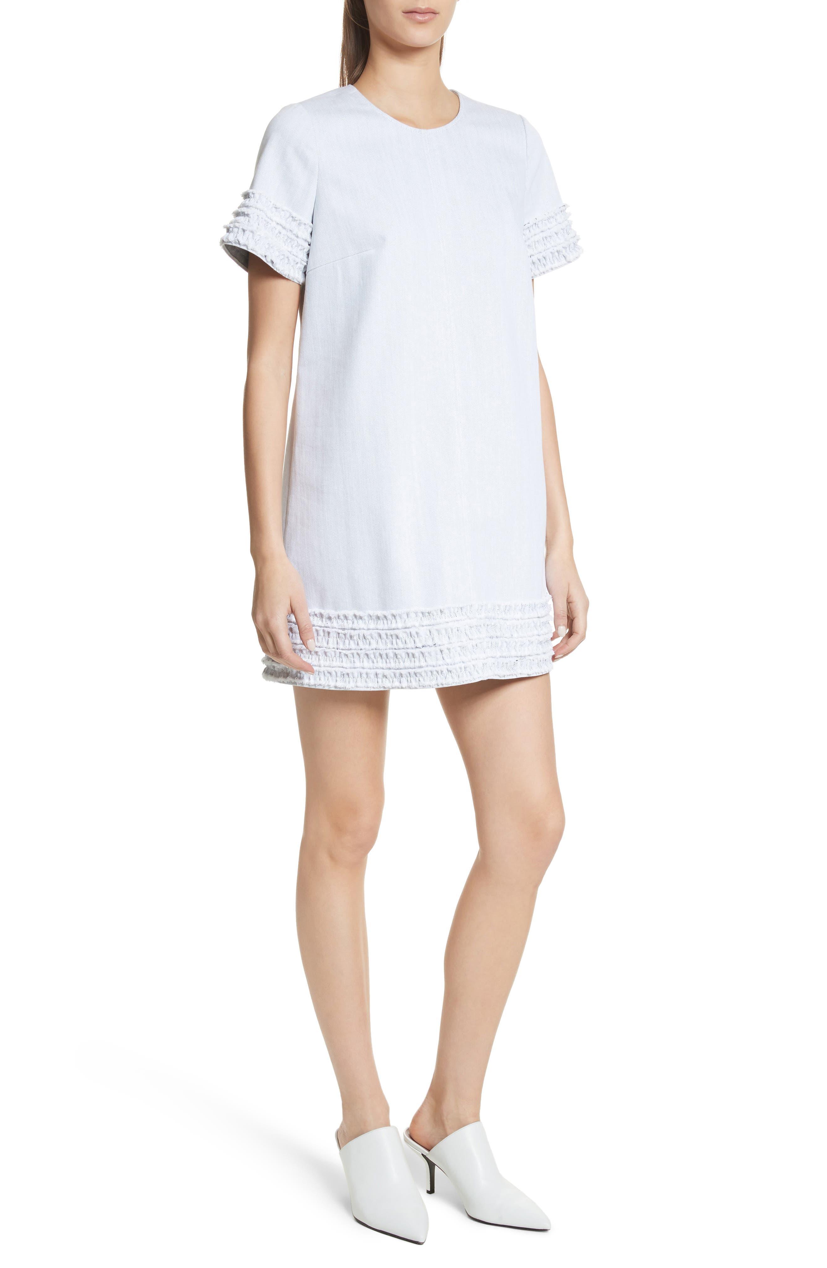 Ashton Dress,                             Main thumbnail 1, color,                             White