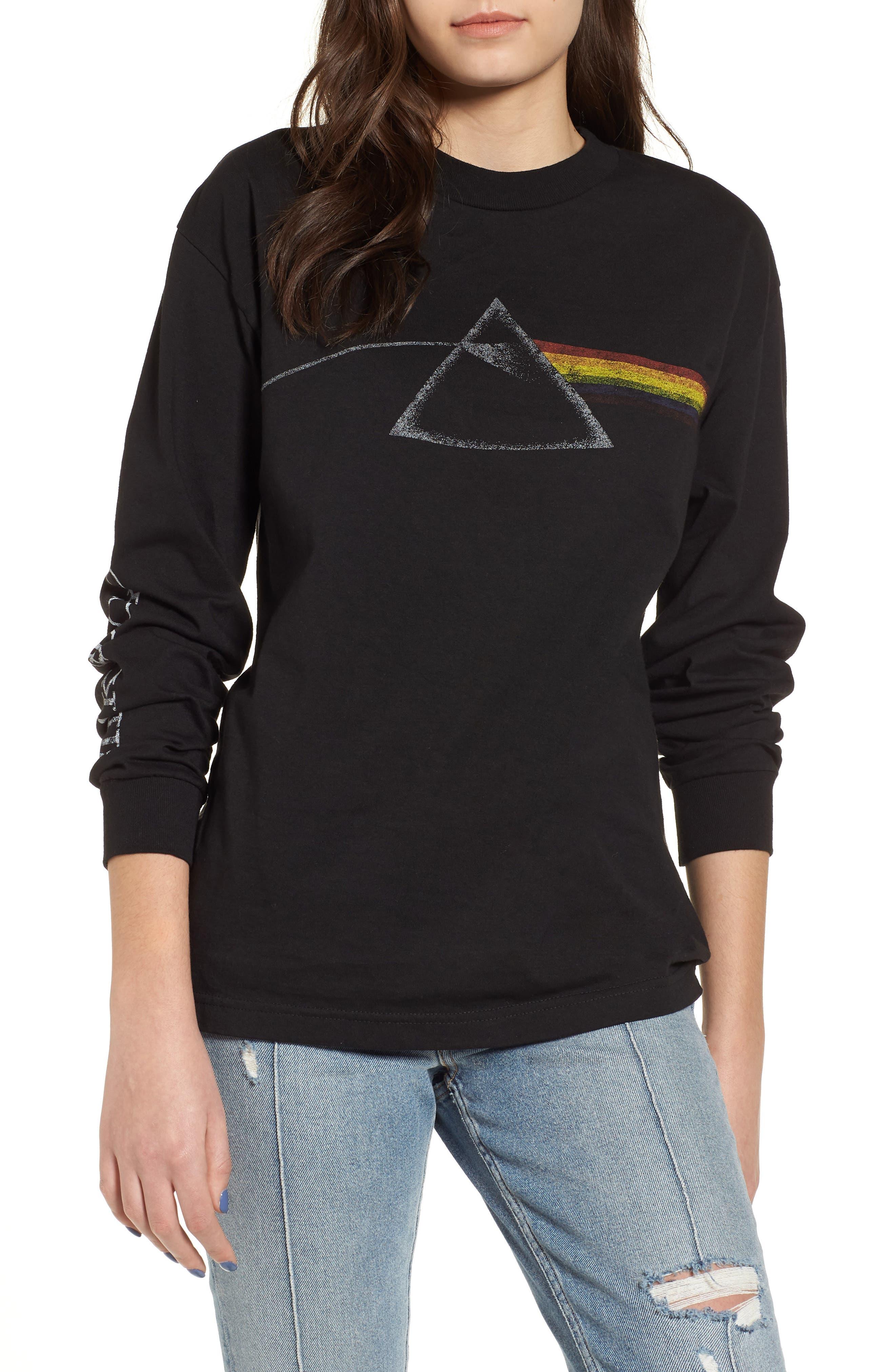 Pink Floyd Tee,                         Main,                         color, Black