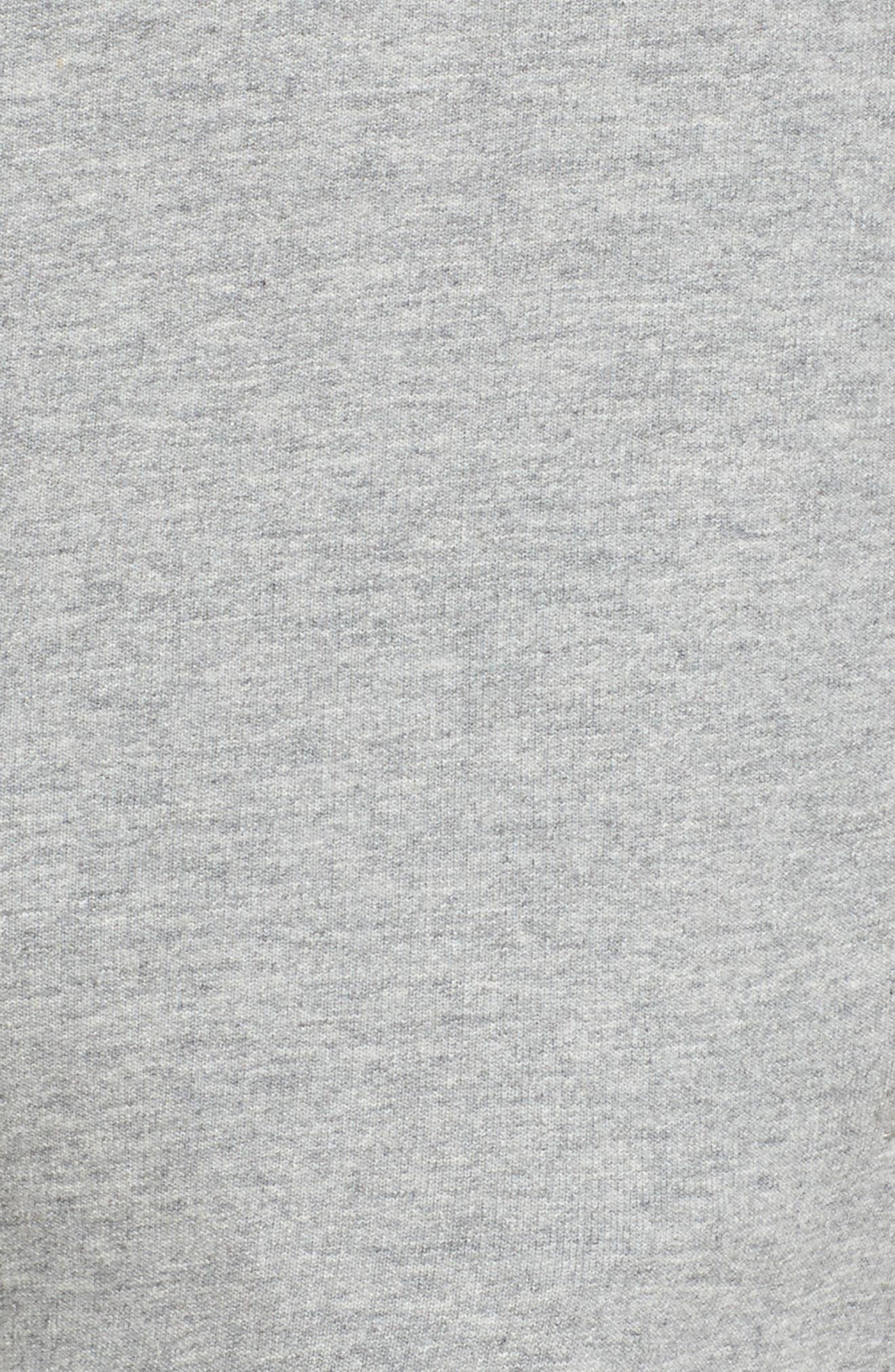 Authentic Cresta Slim Fit Sweatpants,                             Alternate thumbnail 6, color,                             Grey