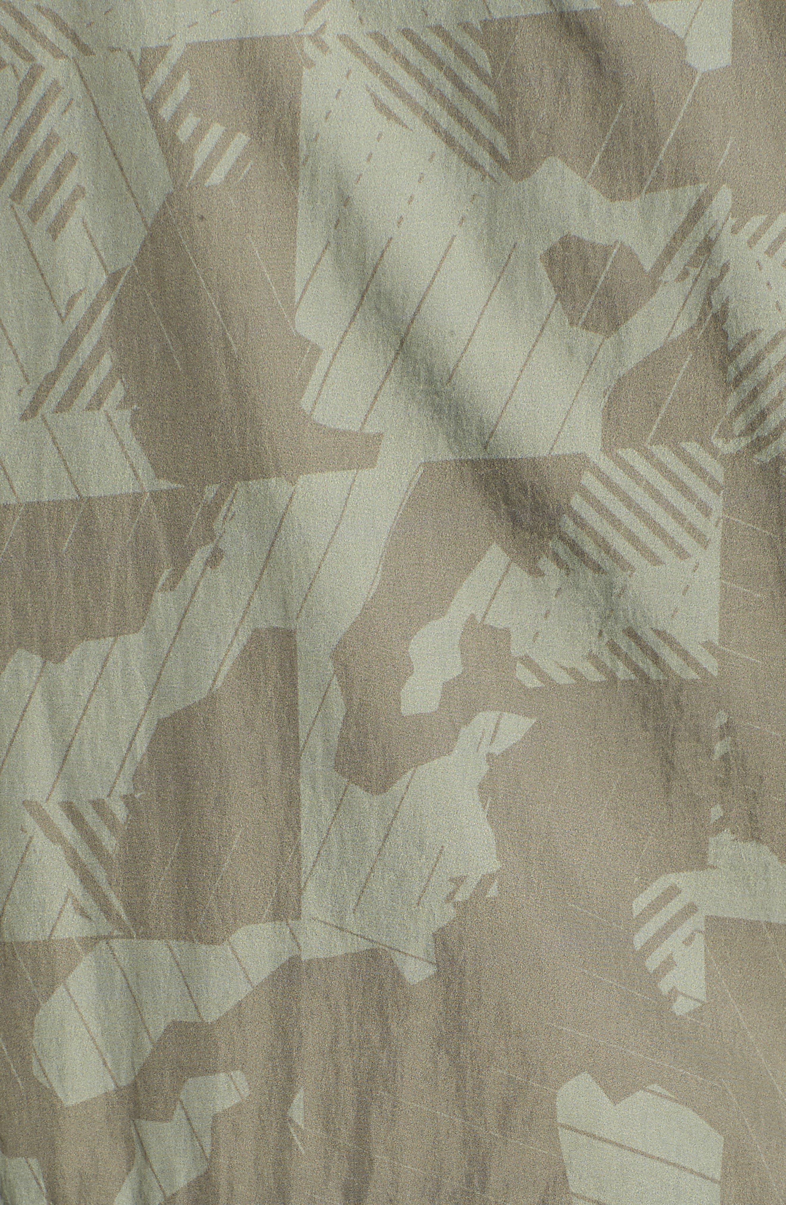 Camo Windbreaker Jacket,                             Alternate thumbnail 5, color,                             Bungee Cord Camo