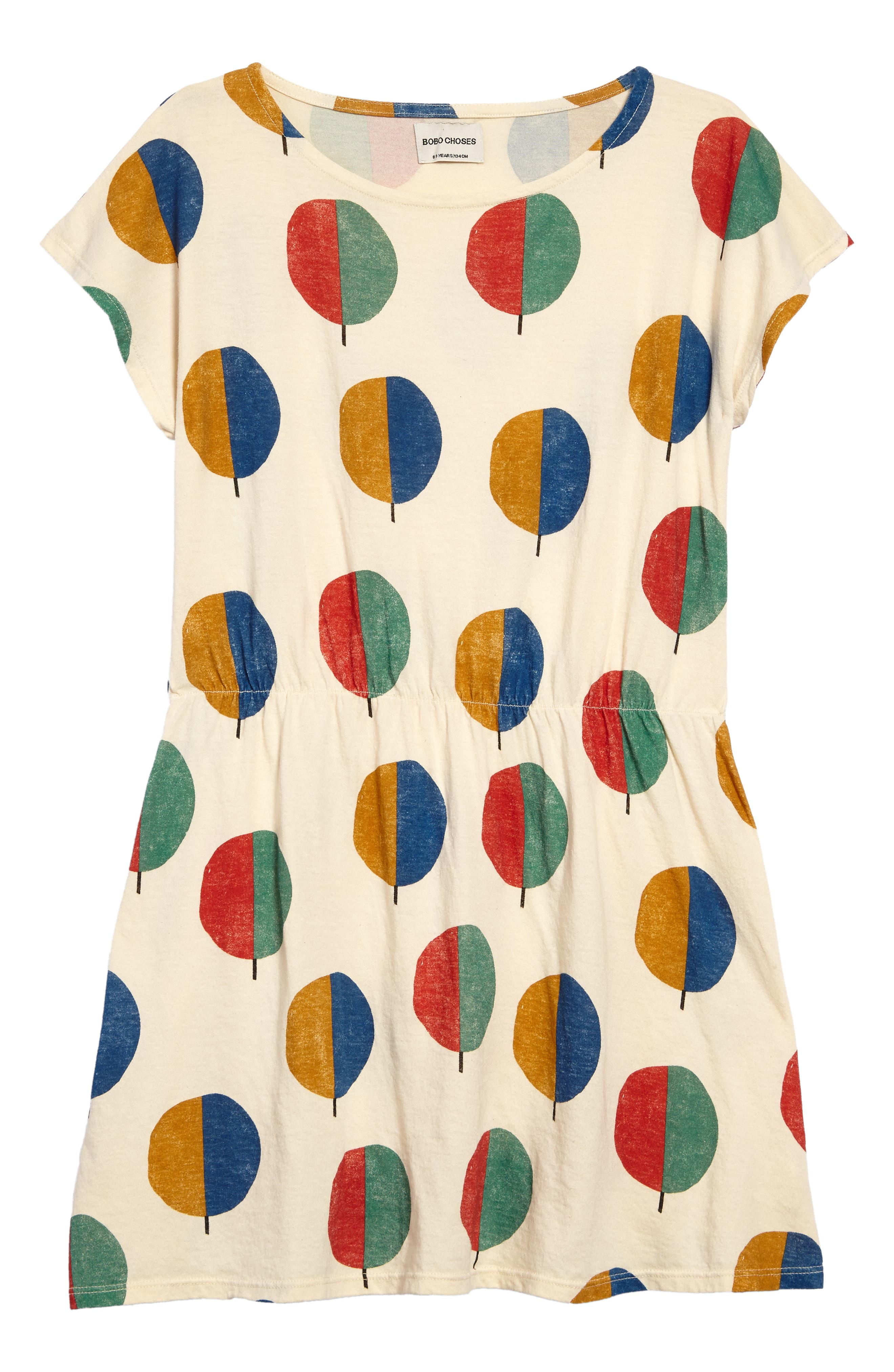 Forest Dress,                             Main thumbnail 1, color,                             Buttercream