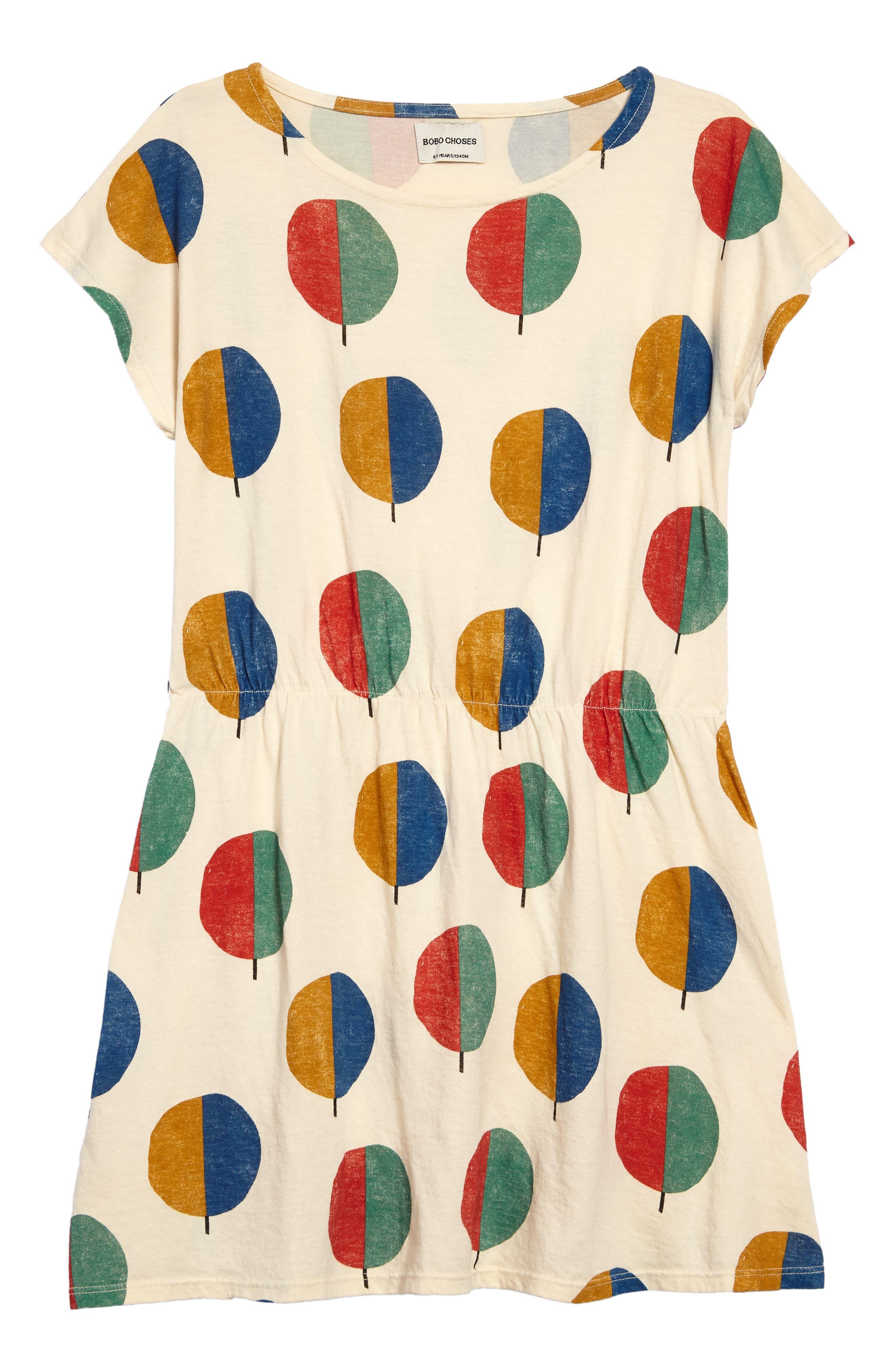 Forest Dress,                         Main,                         color, Buttercream