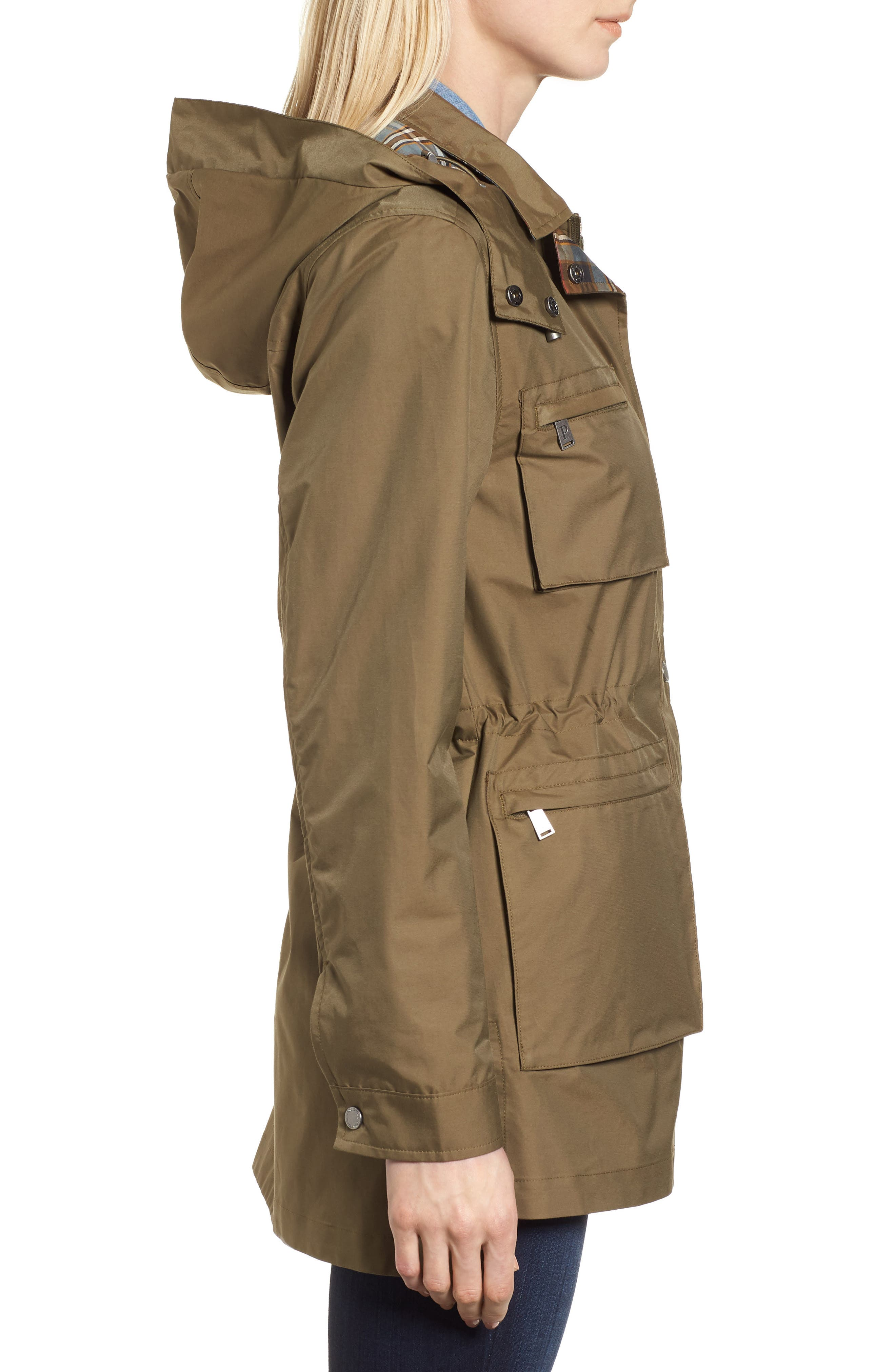 Taylor Utility Jacket,                             Alternate thumbnail 3, color,                             Olive