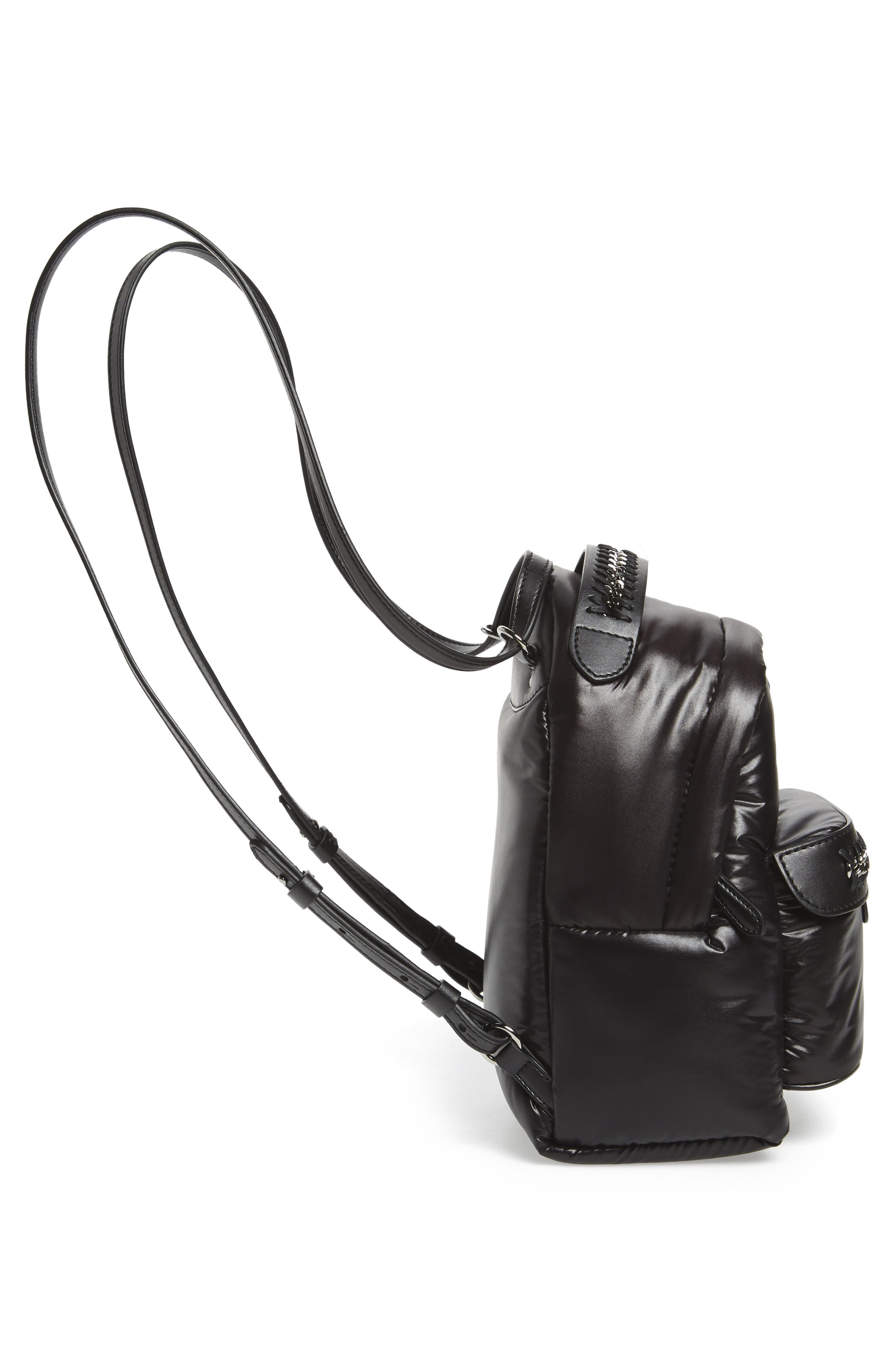 Alternate Image 5  - Stella McCartney Mini Falabella Go Star Backpack