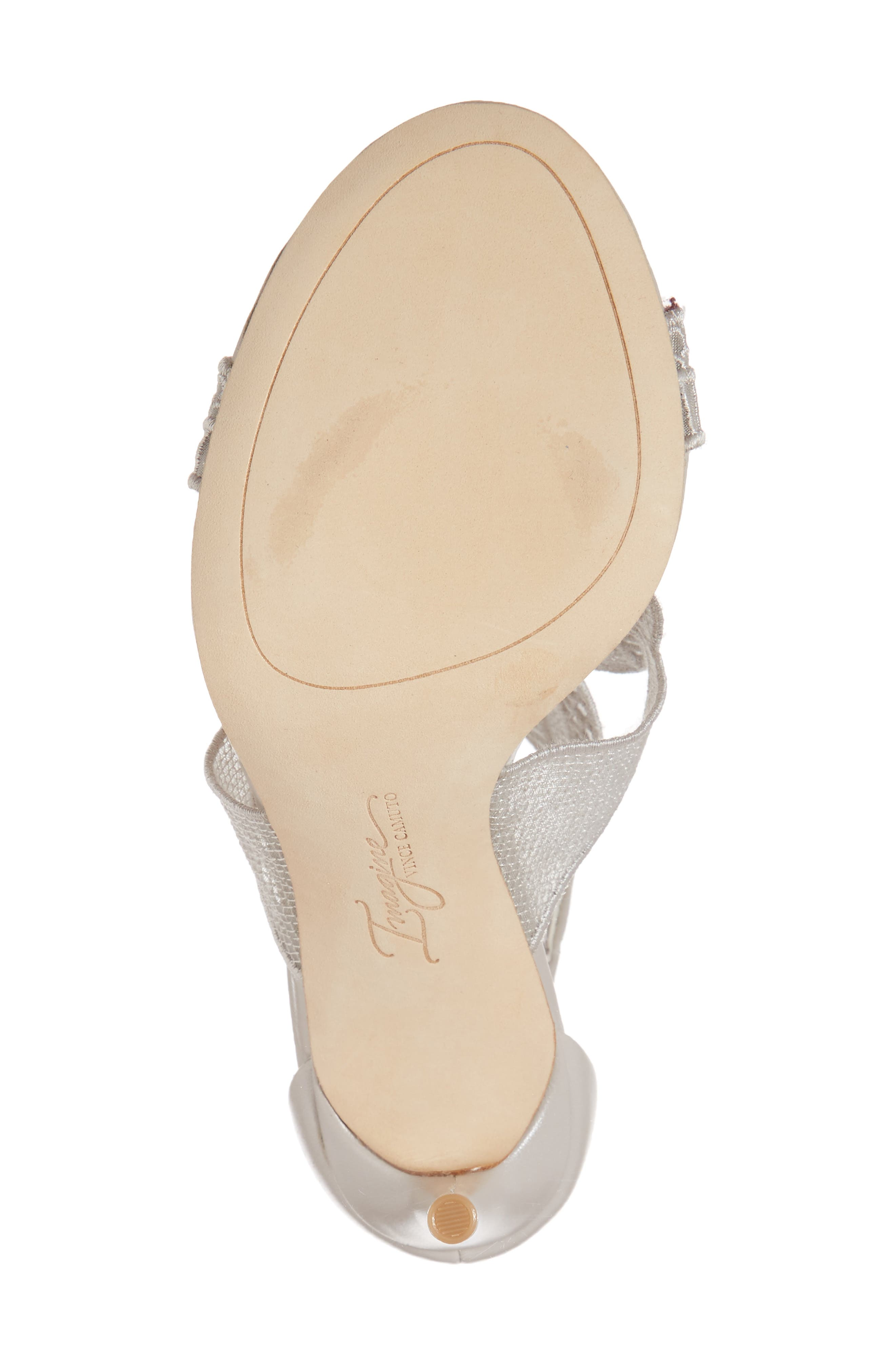 Rashi Sandal,                             Alternate thumbnail 6, color,                             Grey Mist Leather