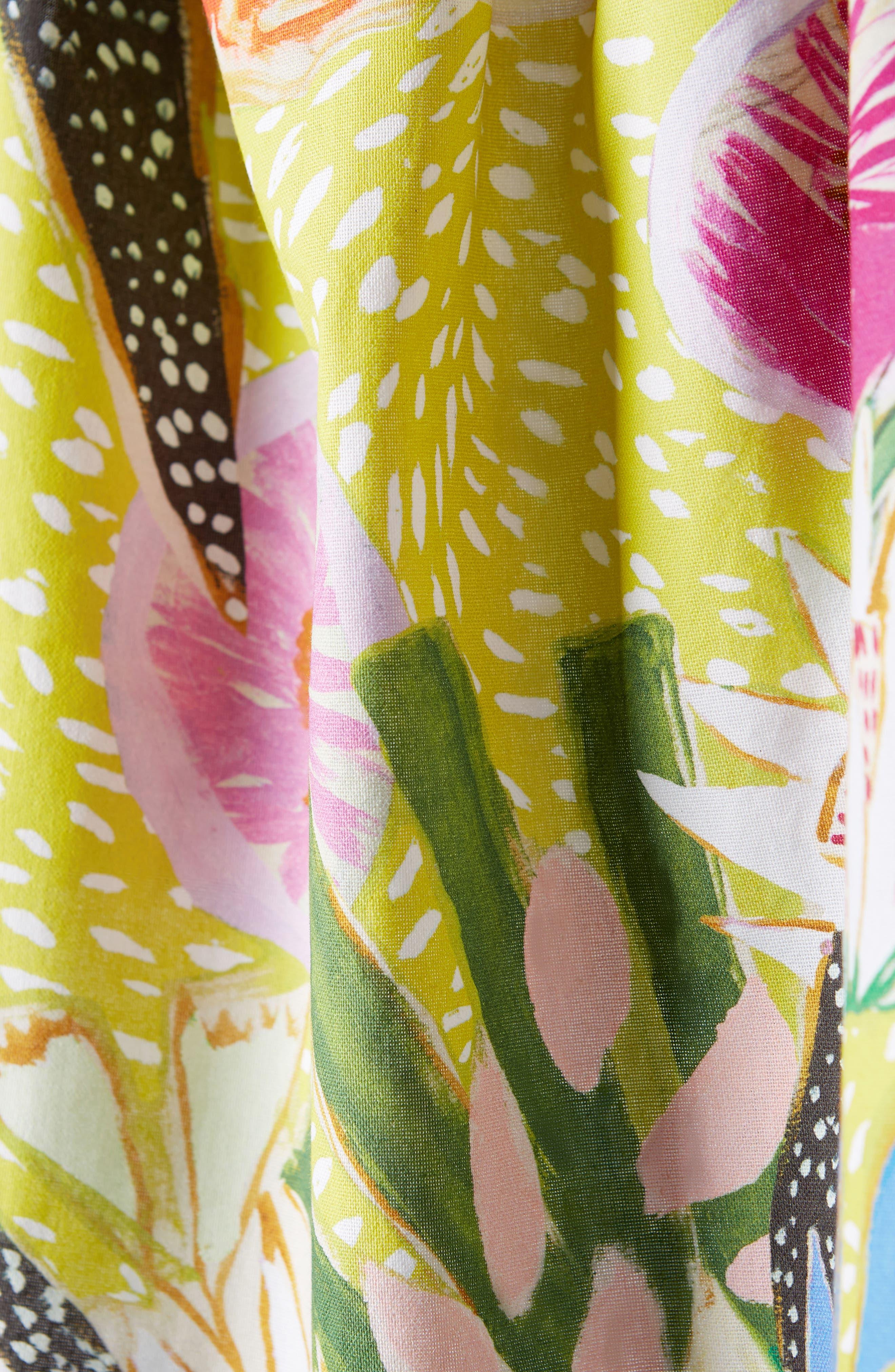 Jardiniere Dishtowel,                             Alternate thumbnail 2, color,                             Green Multi