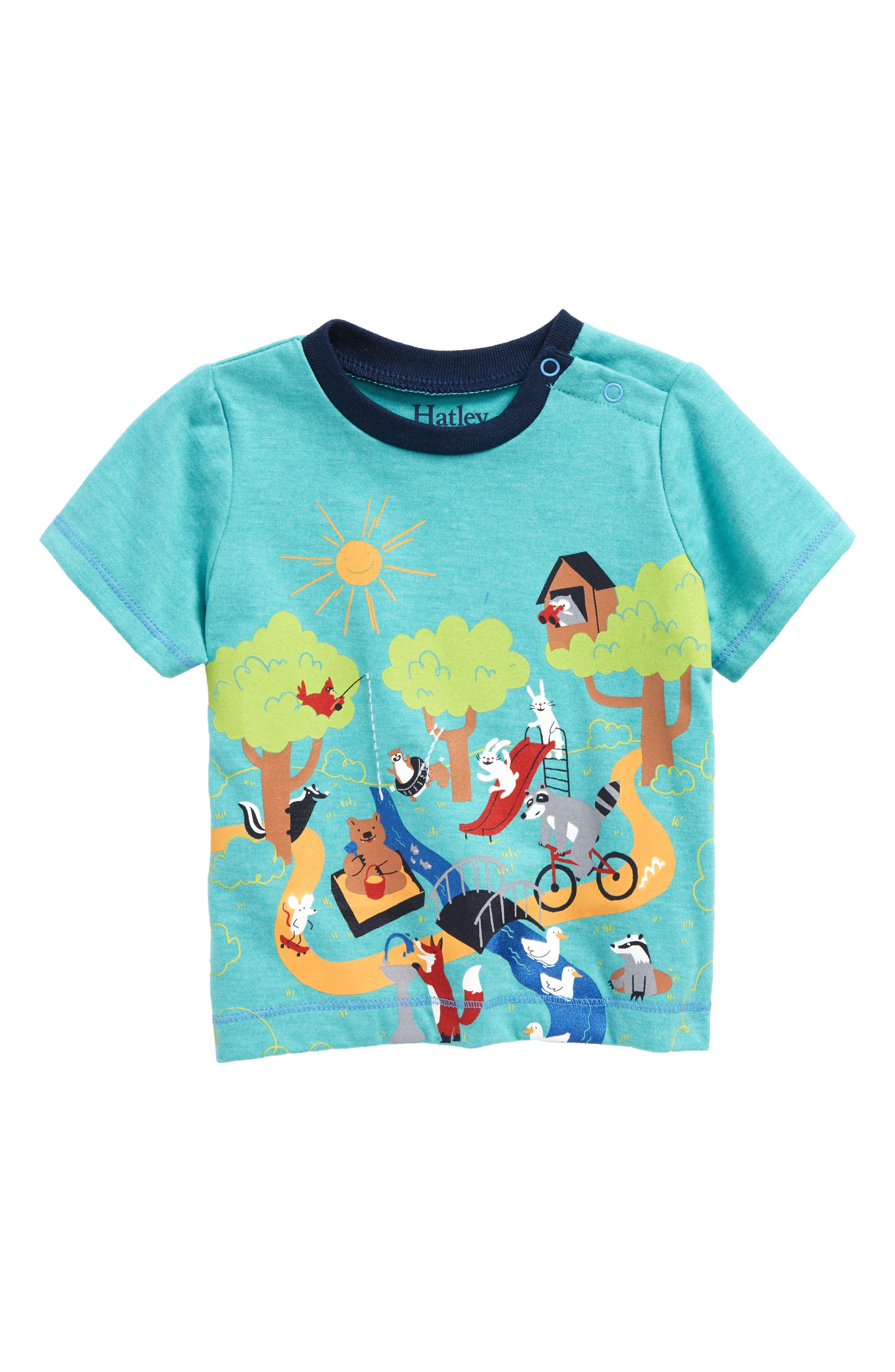 Irregular Day at the Park Shirt,                         Main,                         color, Irregular Day At The Park