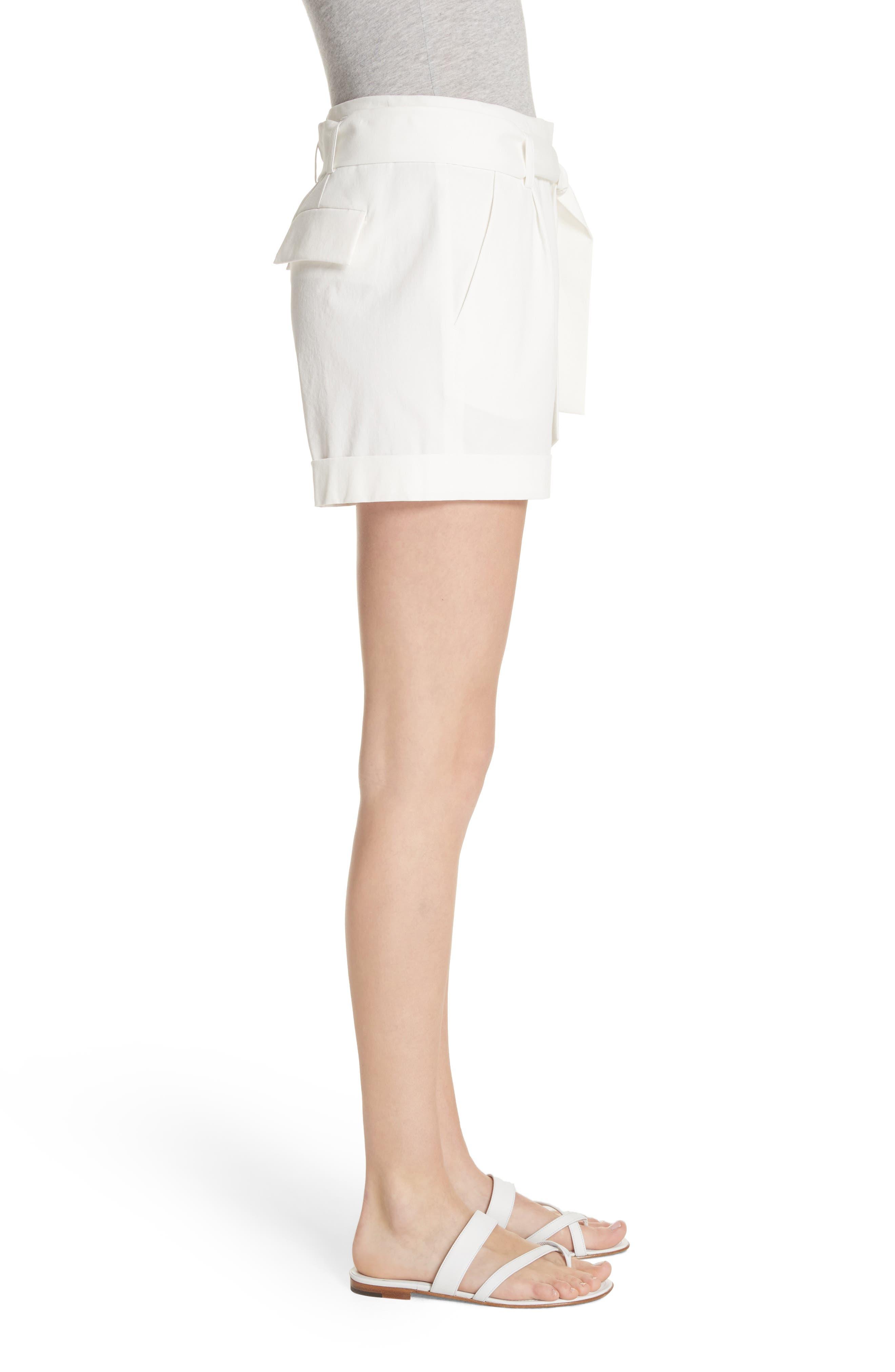 Greenpoint City Shorts,                             Alternate thumbnail 3, color,                             White