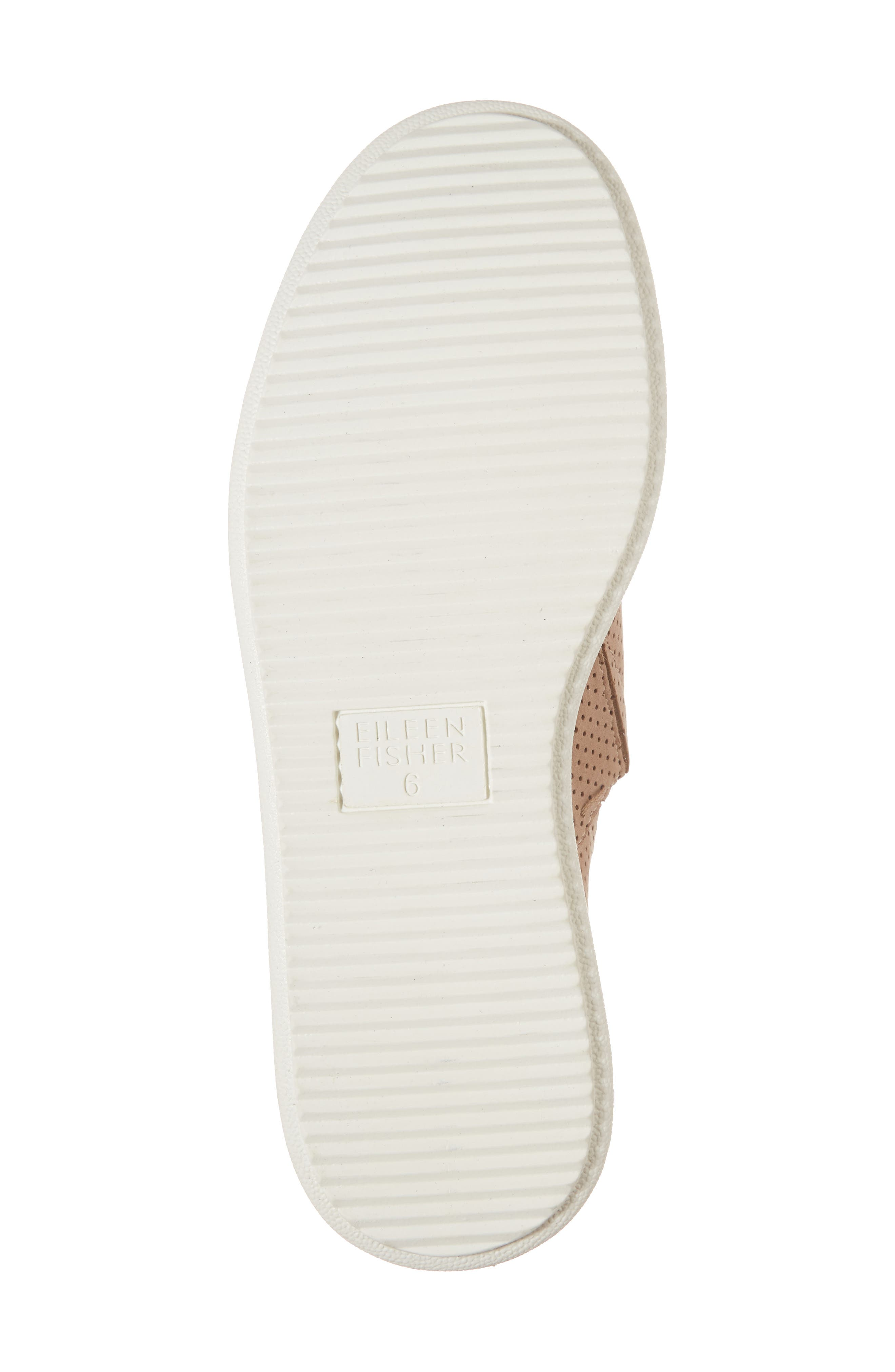 Alternate Image 6  - Eileen Fisher Panda Perforated Slip-On Sneaker (Women)