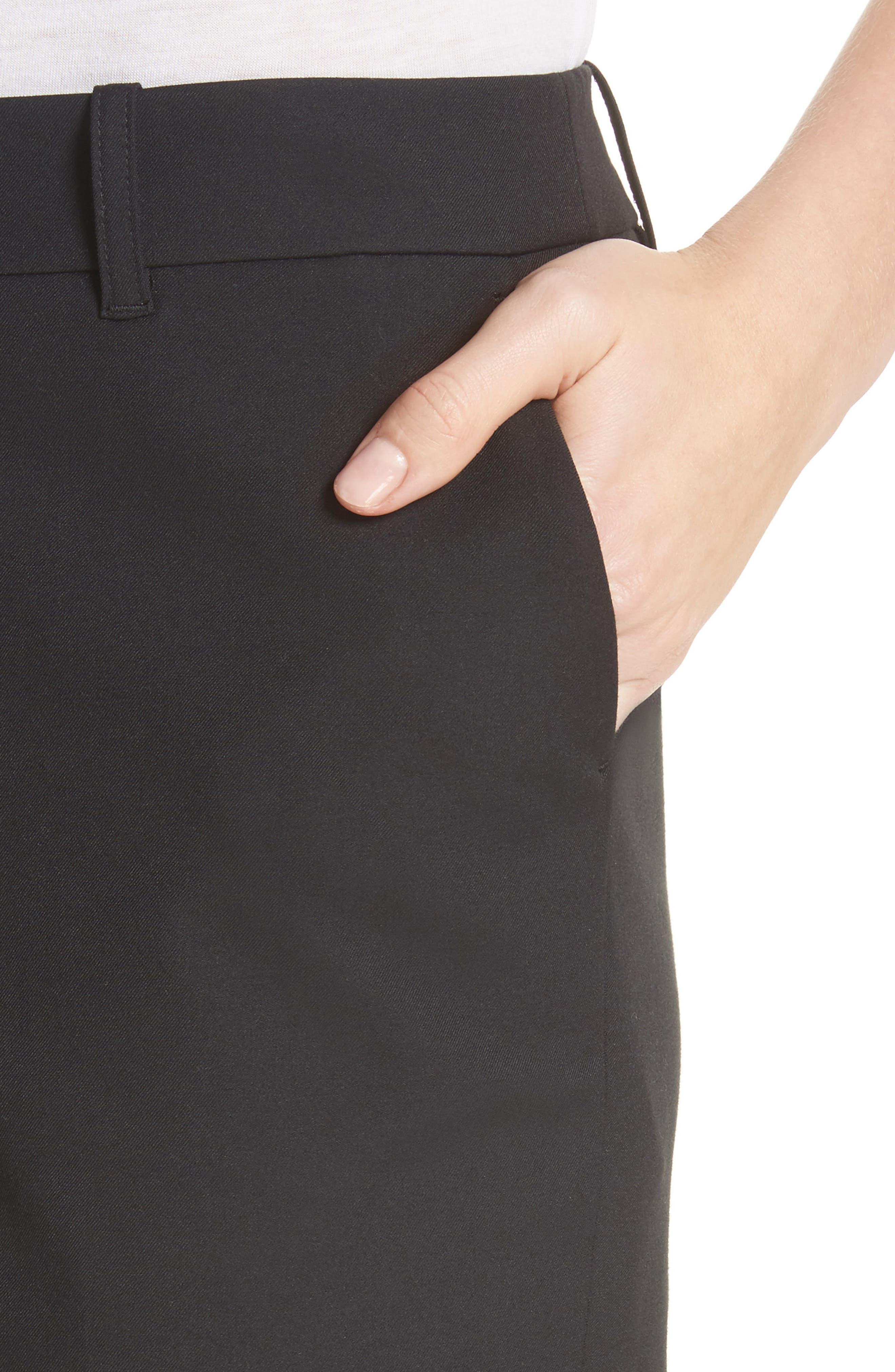 Manhattan Bermuda Shorts,                             Alternate thumbnail 4, color,                             Black