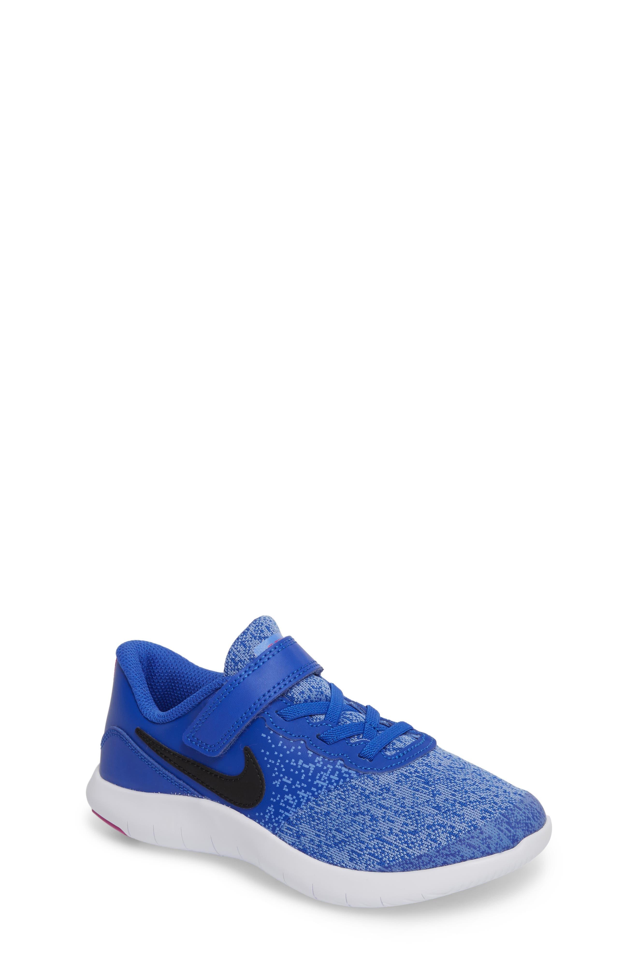 Alternate Image 1 Selected - Nike Flex Contact Running Shoe (Baby, Walker, Toddler & Little Kid)