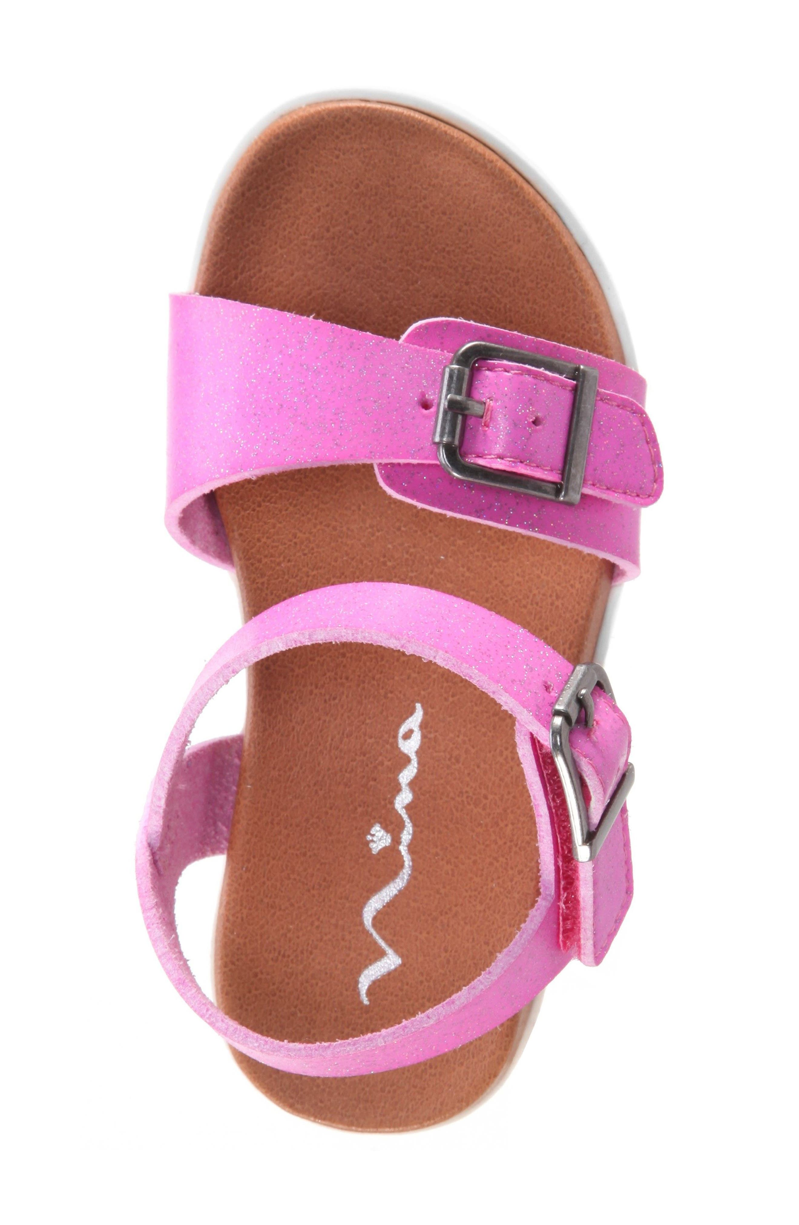 Jacklin3 Quarter Strap Sandal,                             Alternate thumbnail 5, color,                             Pink Dip Dye