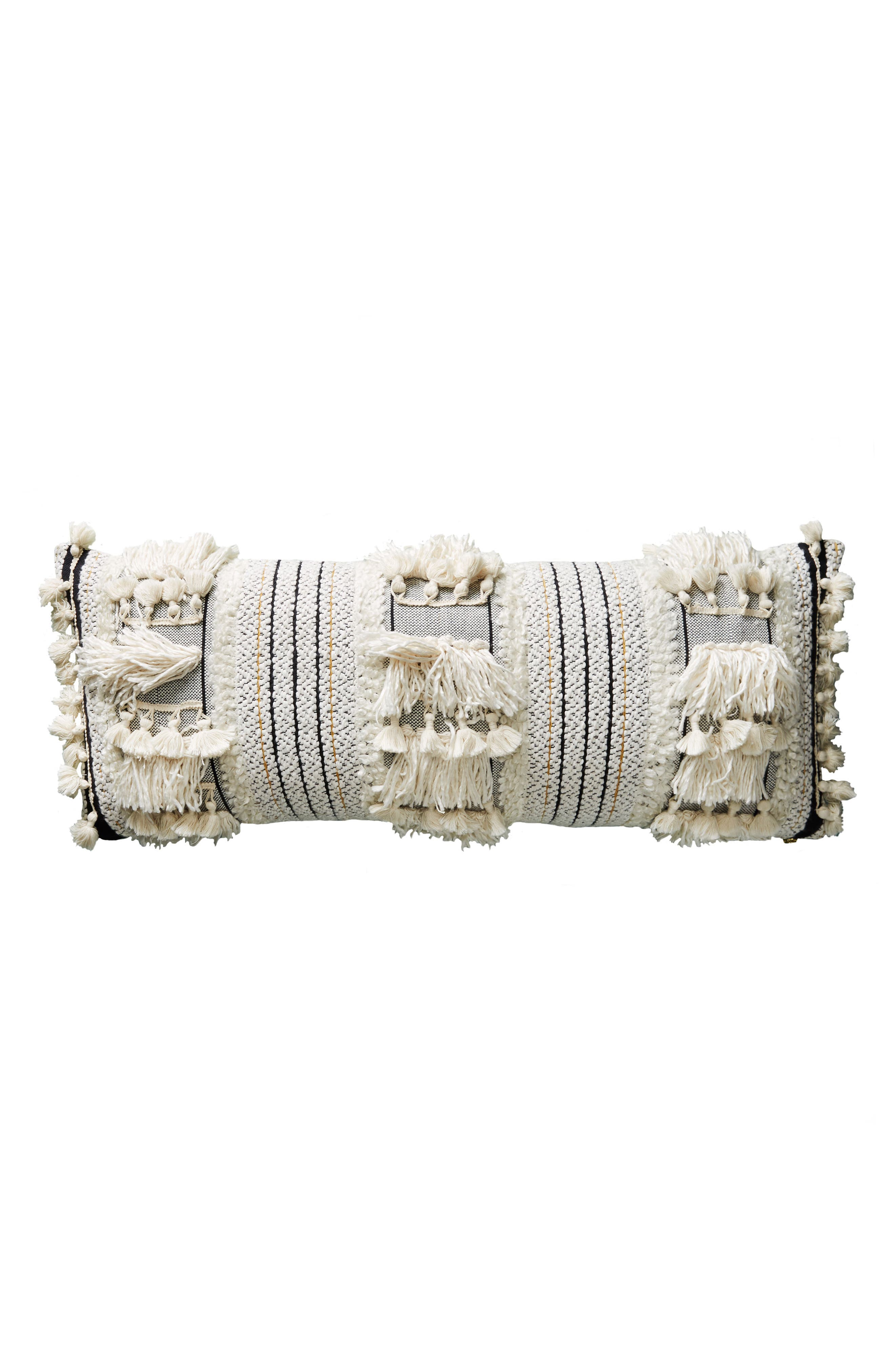Alternate Image 4  - Anthropologie Edna Woven Accent Pillow