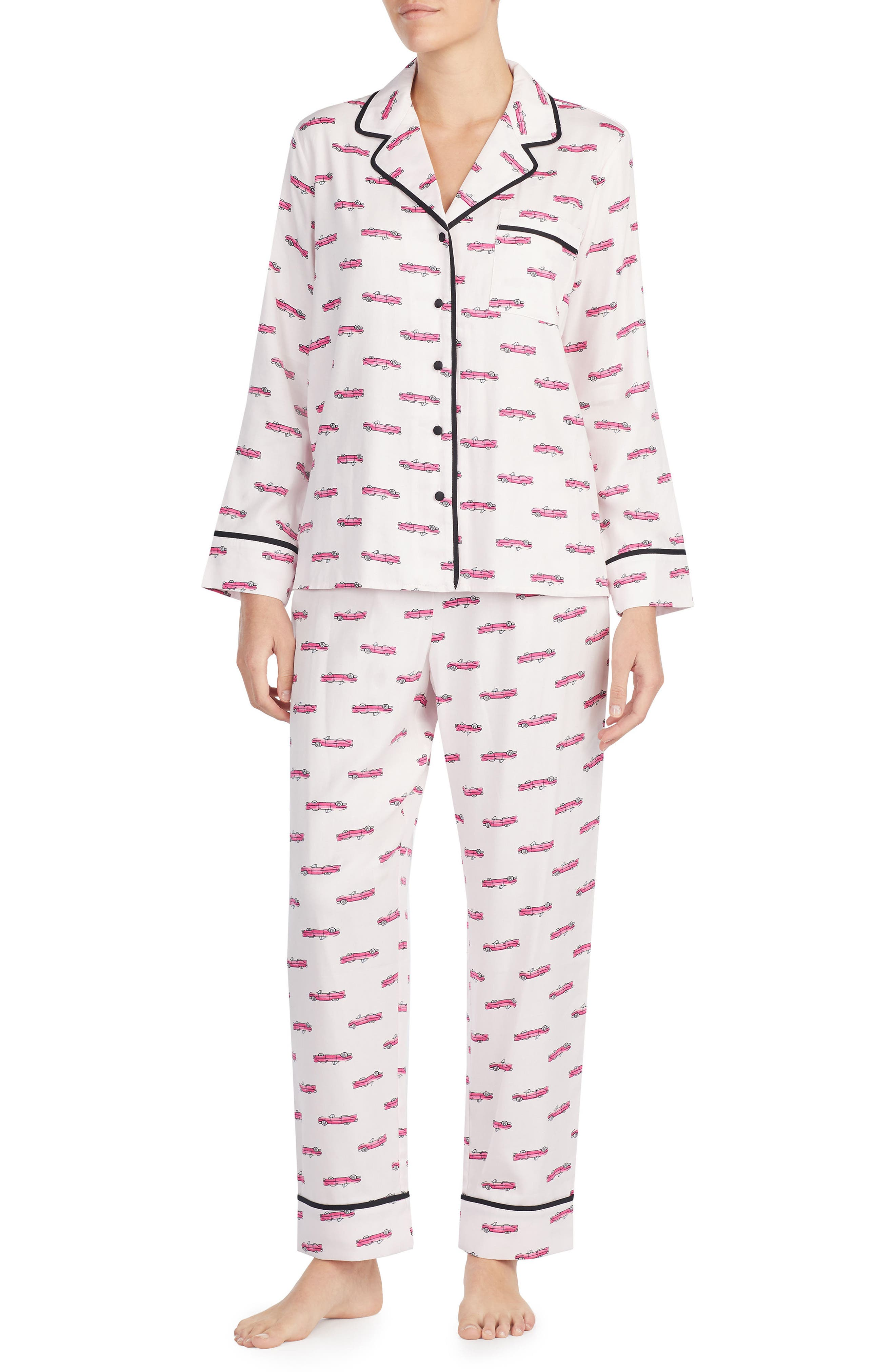 hot rod pajamas,                             Main thumbnail 1, color,                             Hot Rod