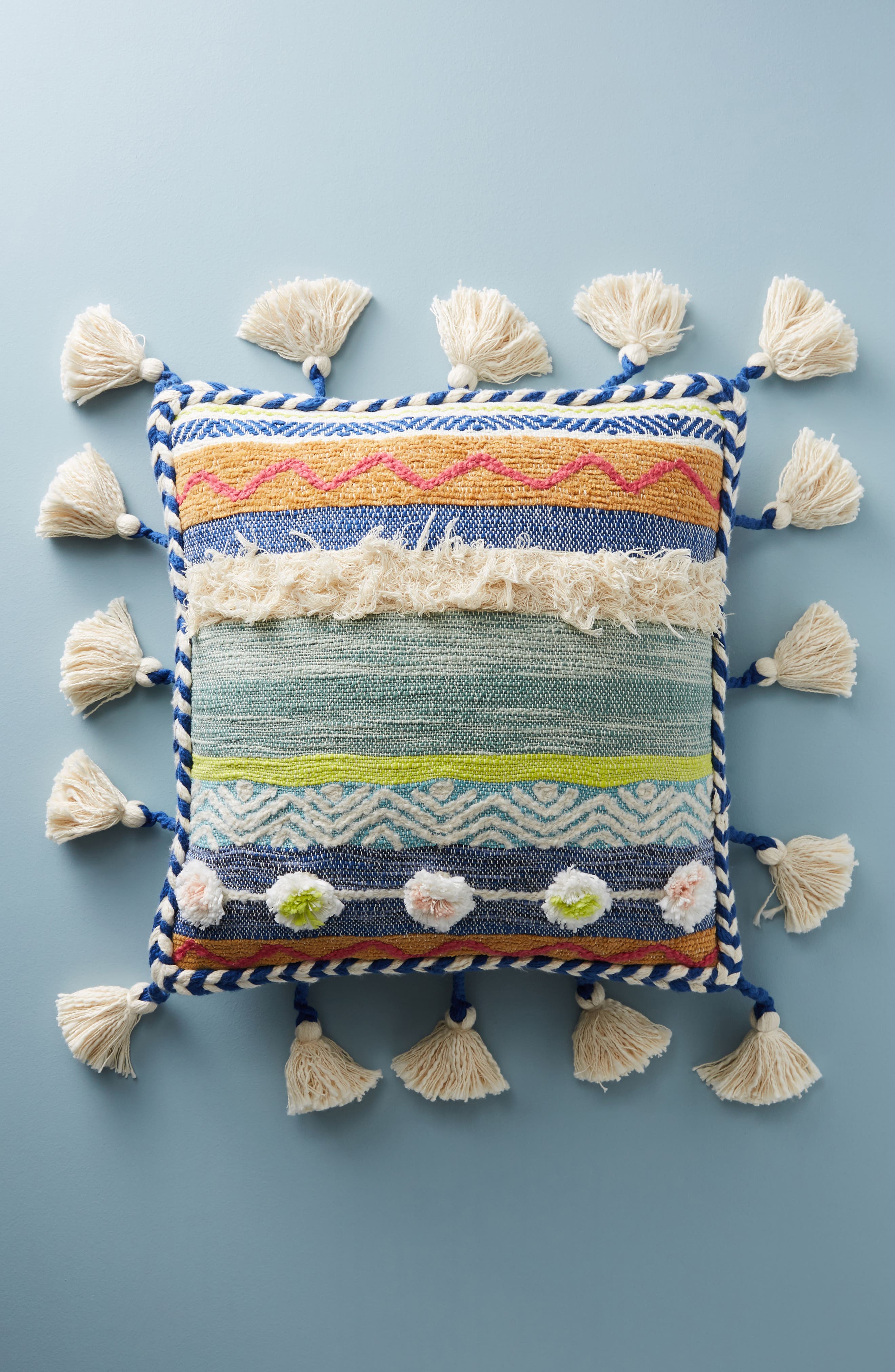 Main Image - Anthropologie Woven Rami Accent Pillow