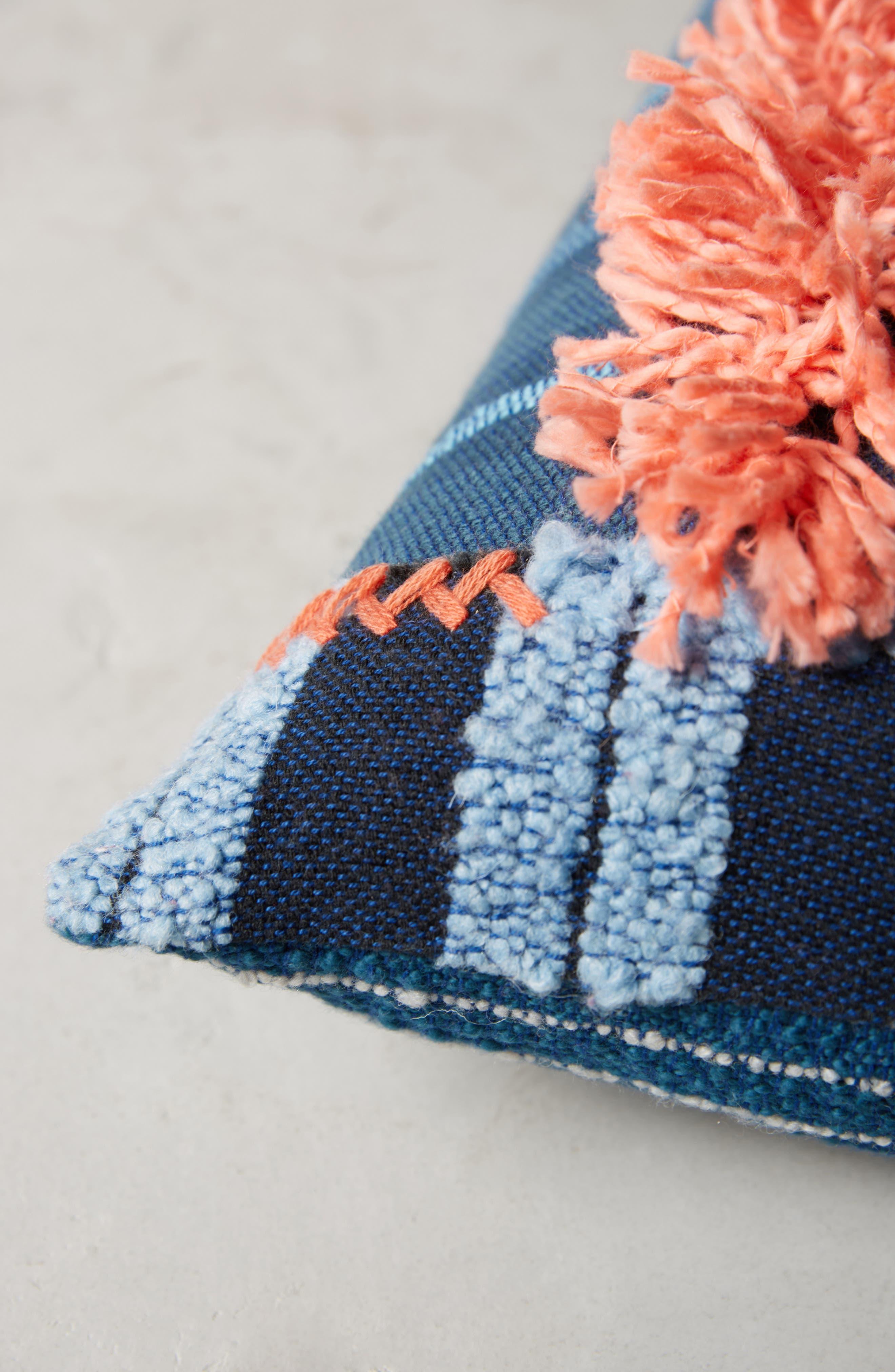 Yoursa Accent Pillow,                             Alternate thumbnail 3, color,                             Blue