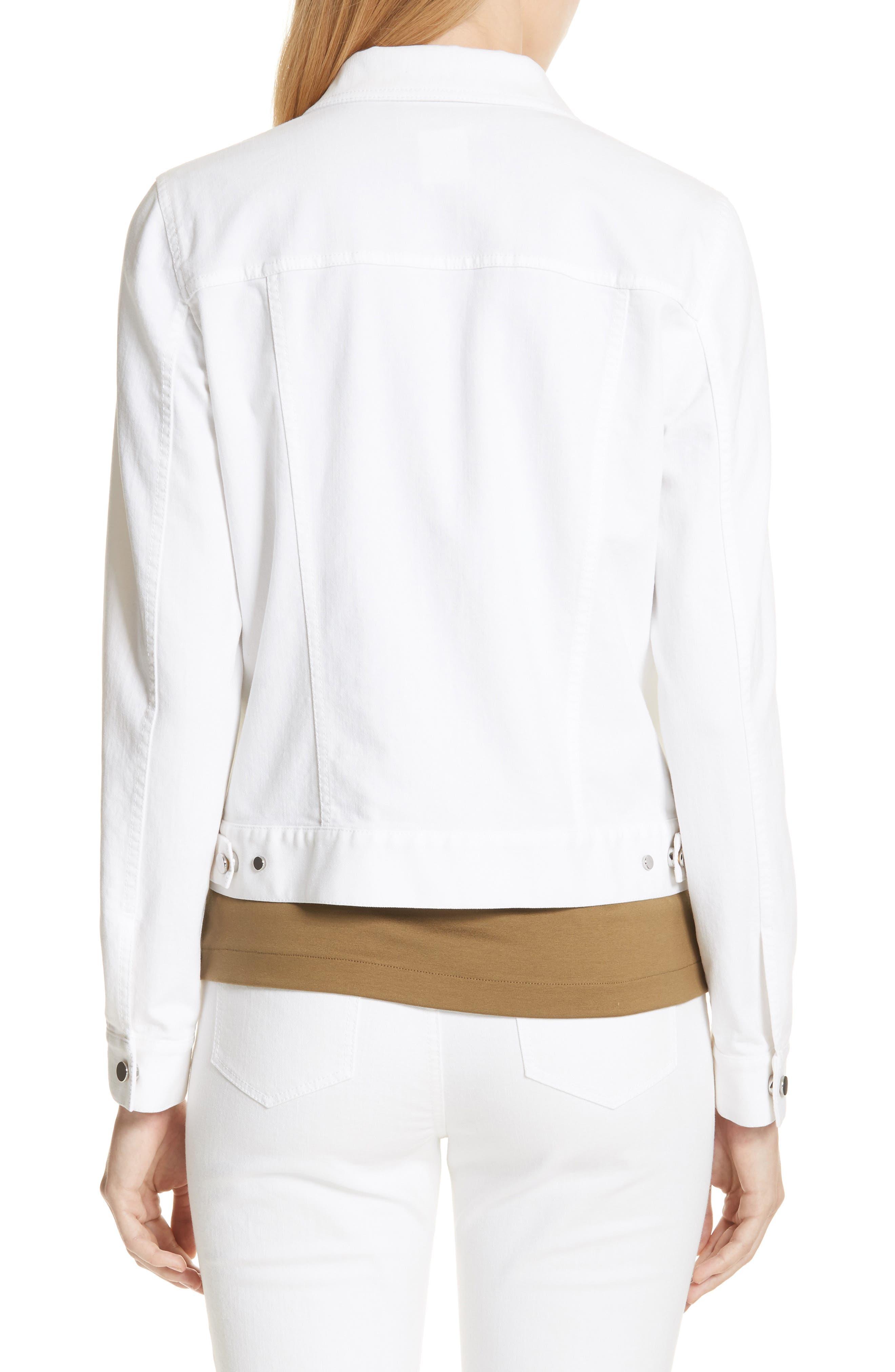 Destiny Denim Jacket,                             Alternate thumbnail 2, color,                             White